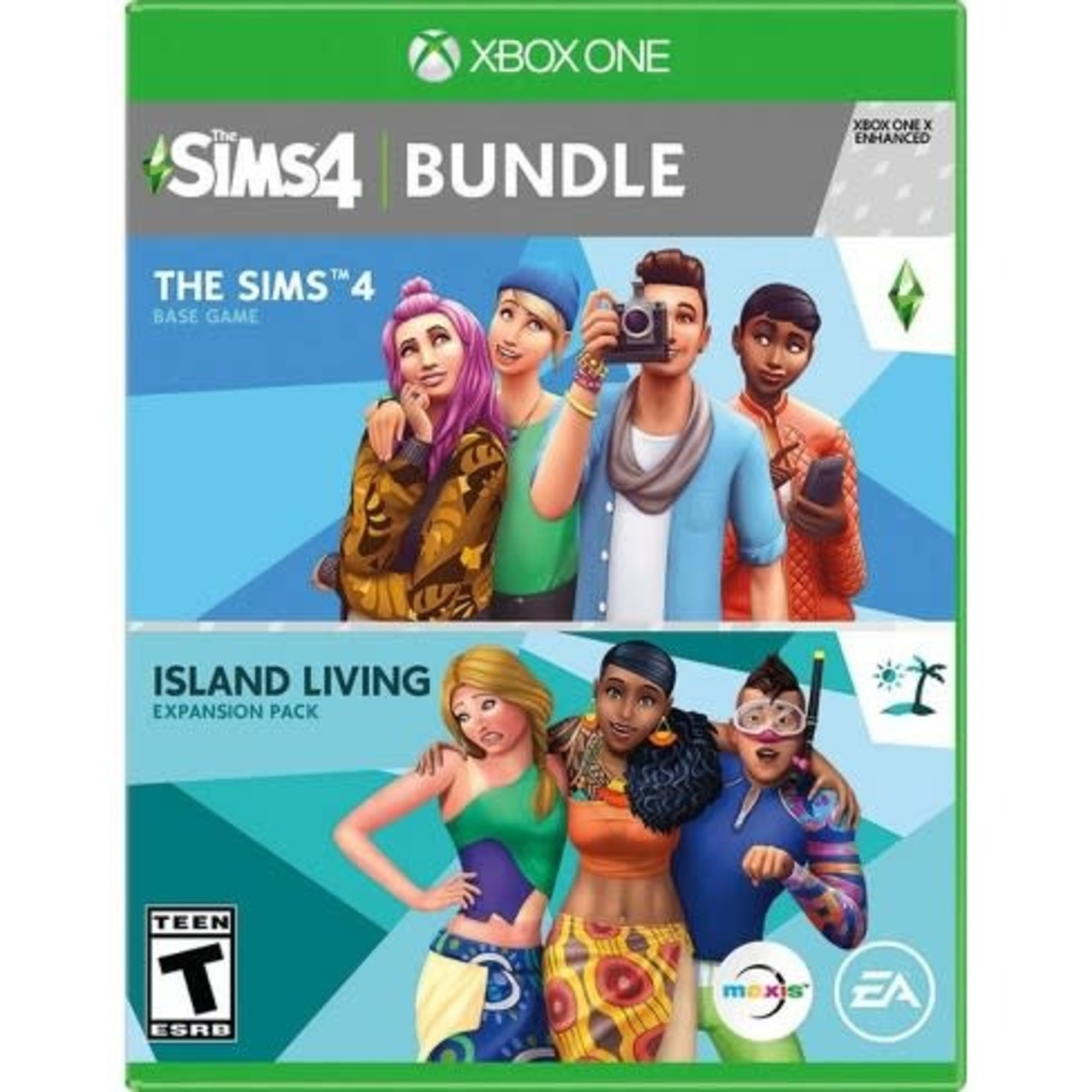 XB1-The Sims 4  Island Living Bundle
