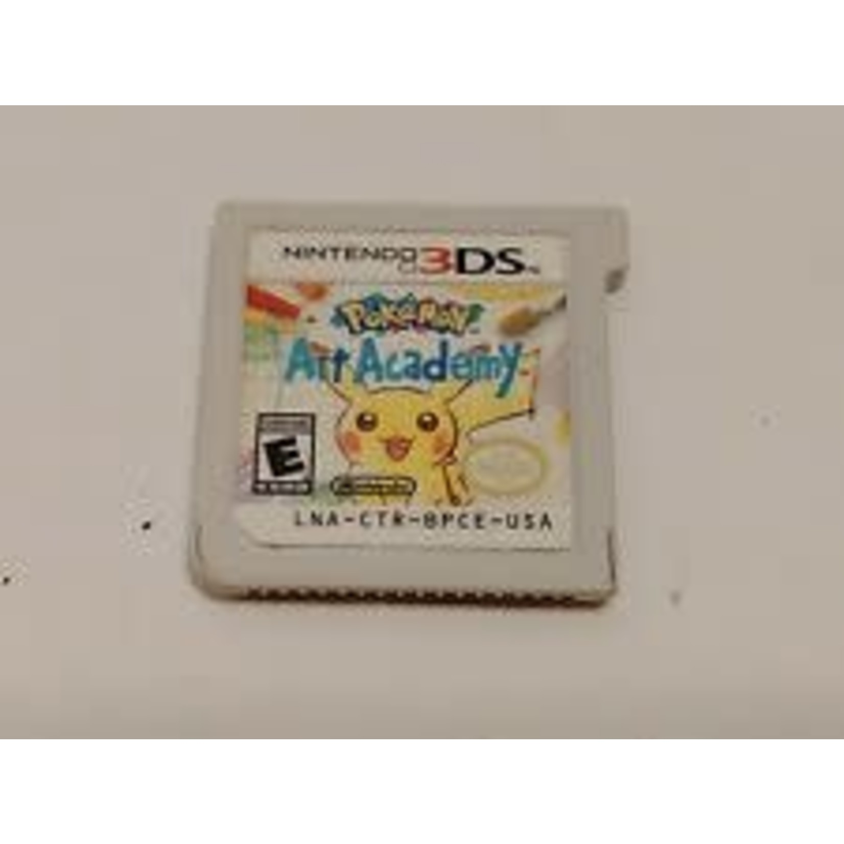 3dsu-Pokemon Art Academy (chip only)