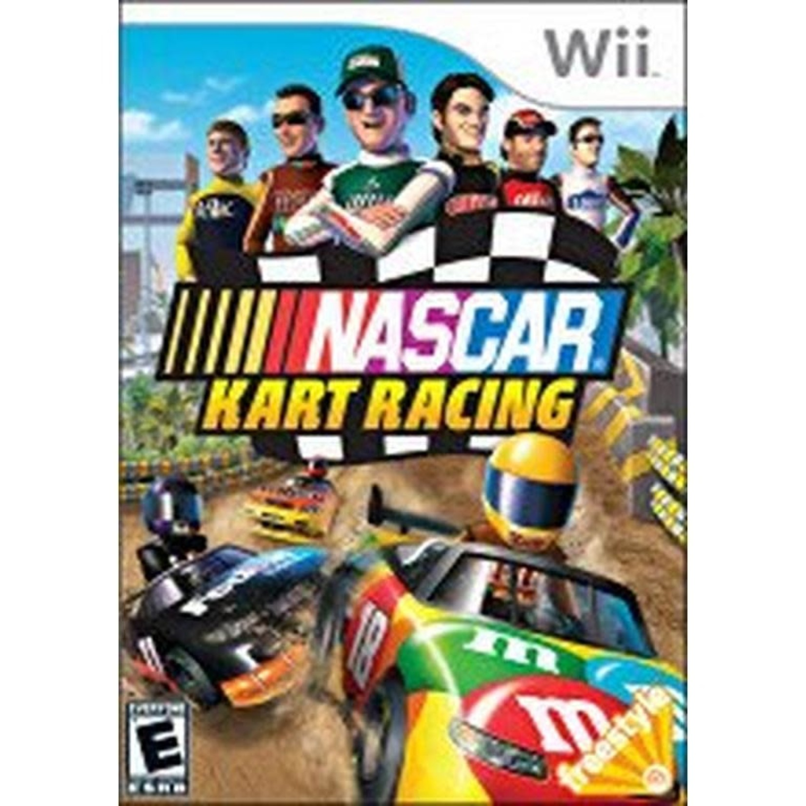 wii-Nascar Kart Racing