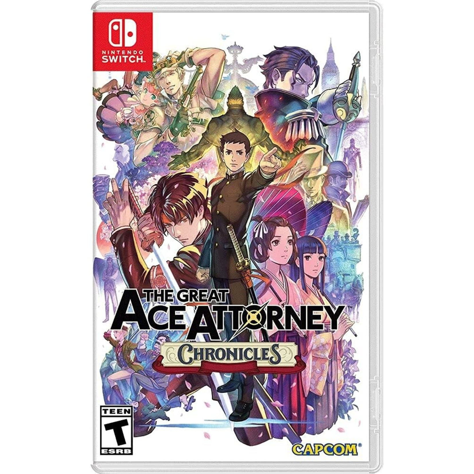 SWITCH-The Great Ace Attorney Chronicles