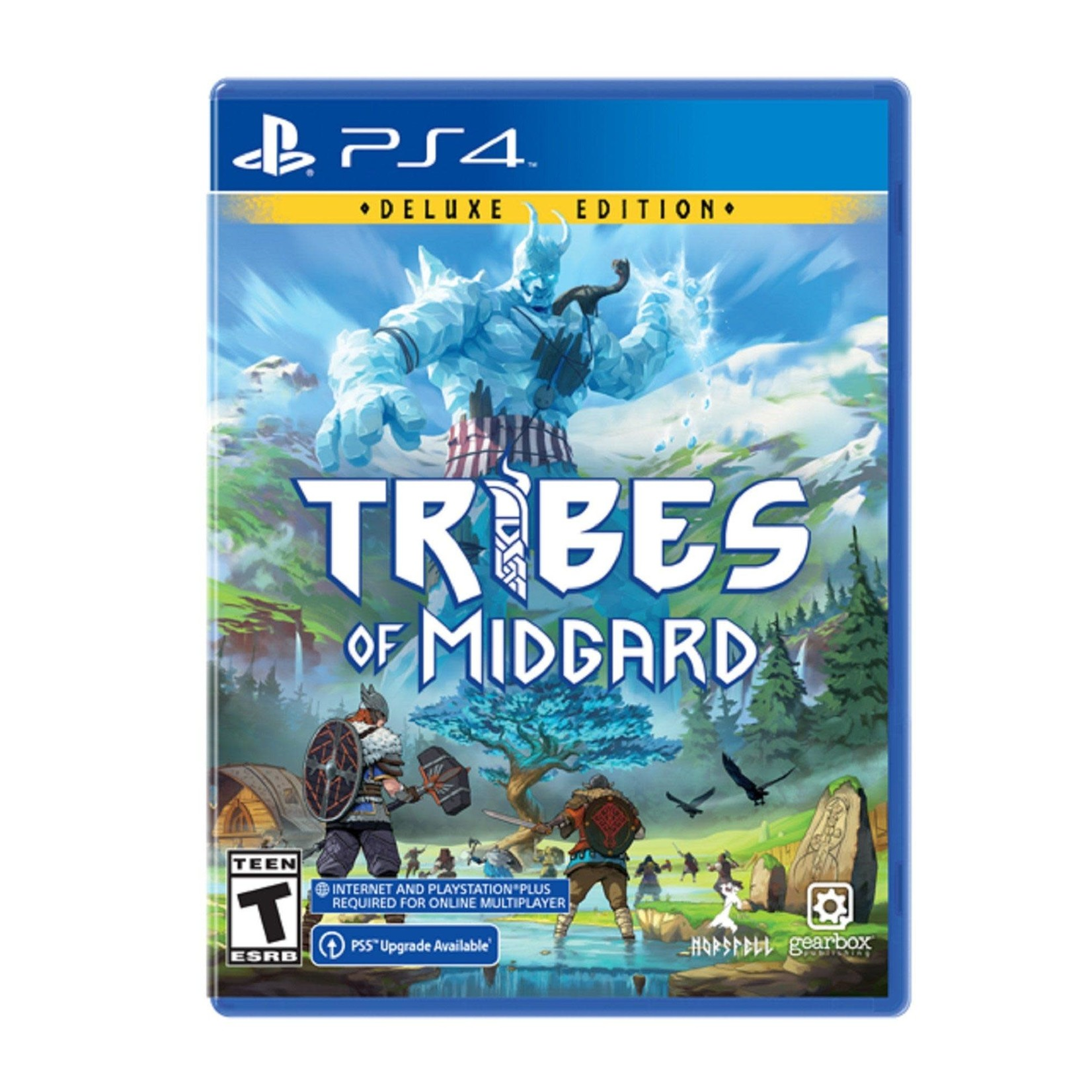 PS4-Tribes of Midgard: Deluxe Edition