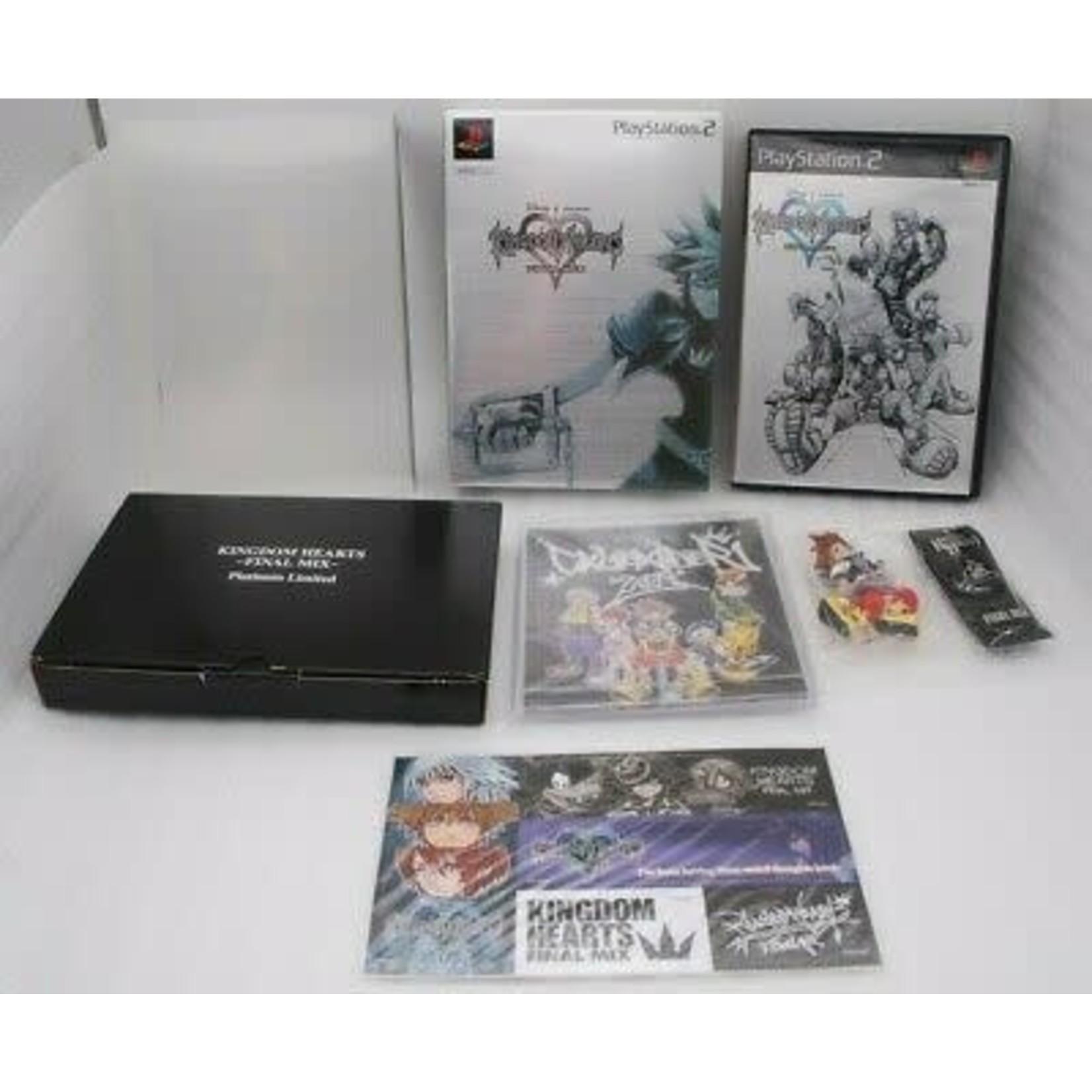 import-ps2u- Kingdom Hearts Final Mix Platinum Limited Edition