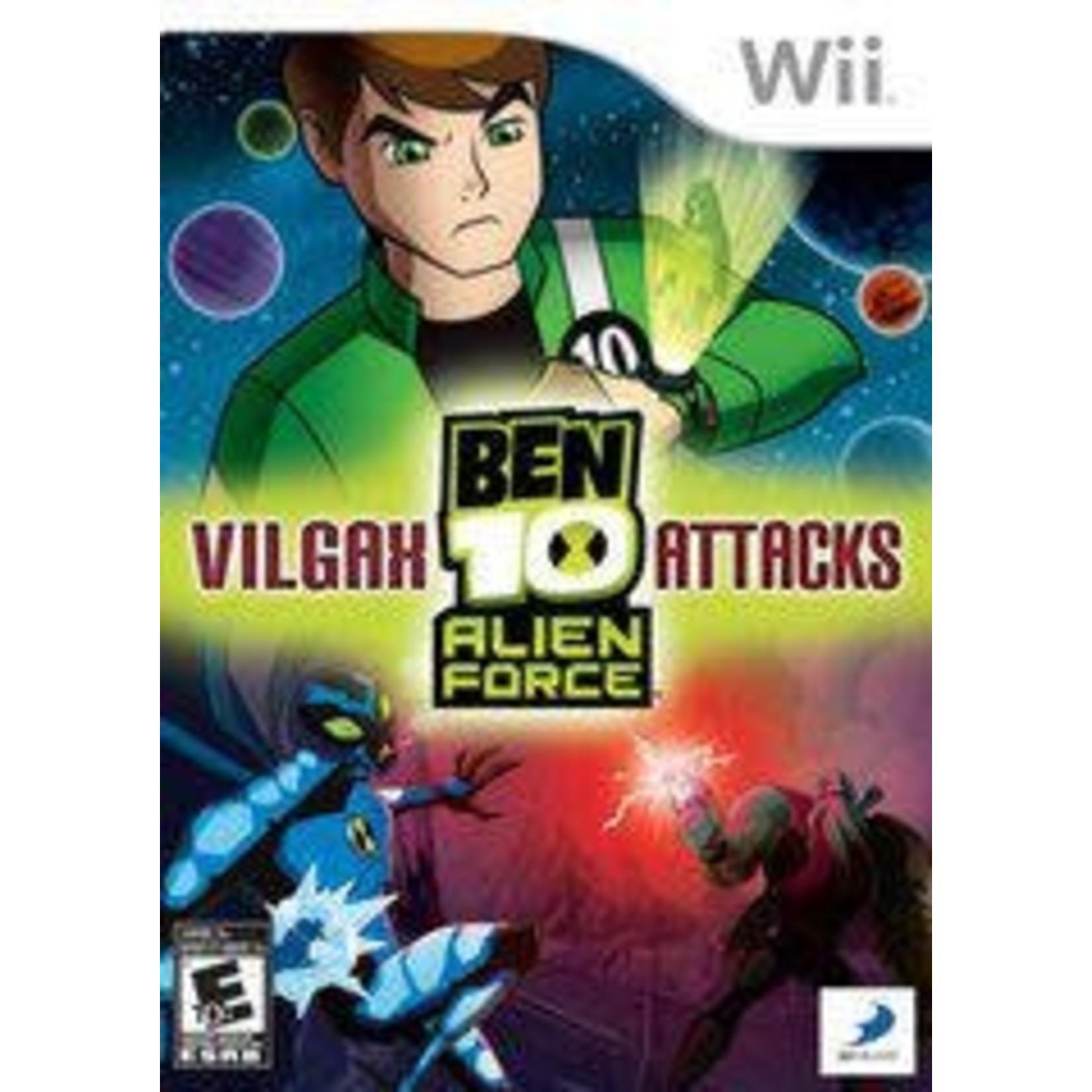 wiiusd-Ben 10 Alien Force Vilgax Attacks