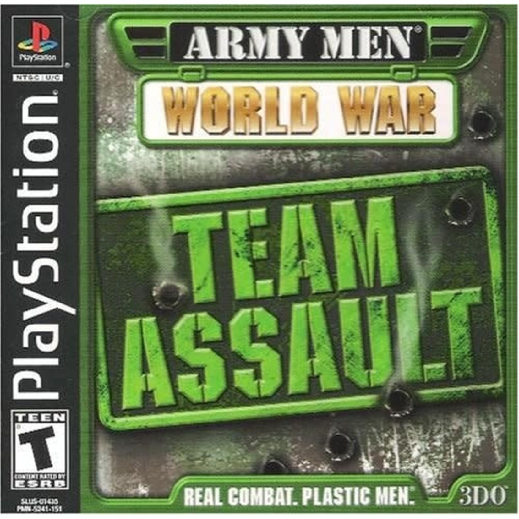 PS1U-ARMY MEN WORLD WAR TEAM ASSAULT