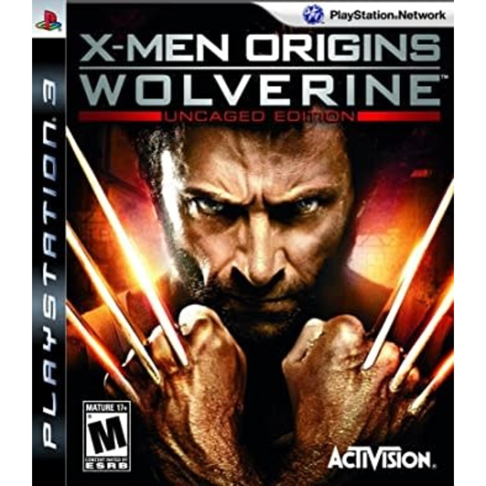 PS3U-X-MEN ORIGINS WOLVERINE