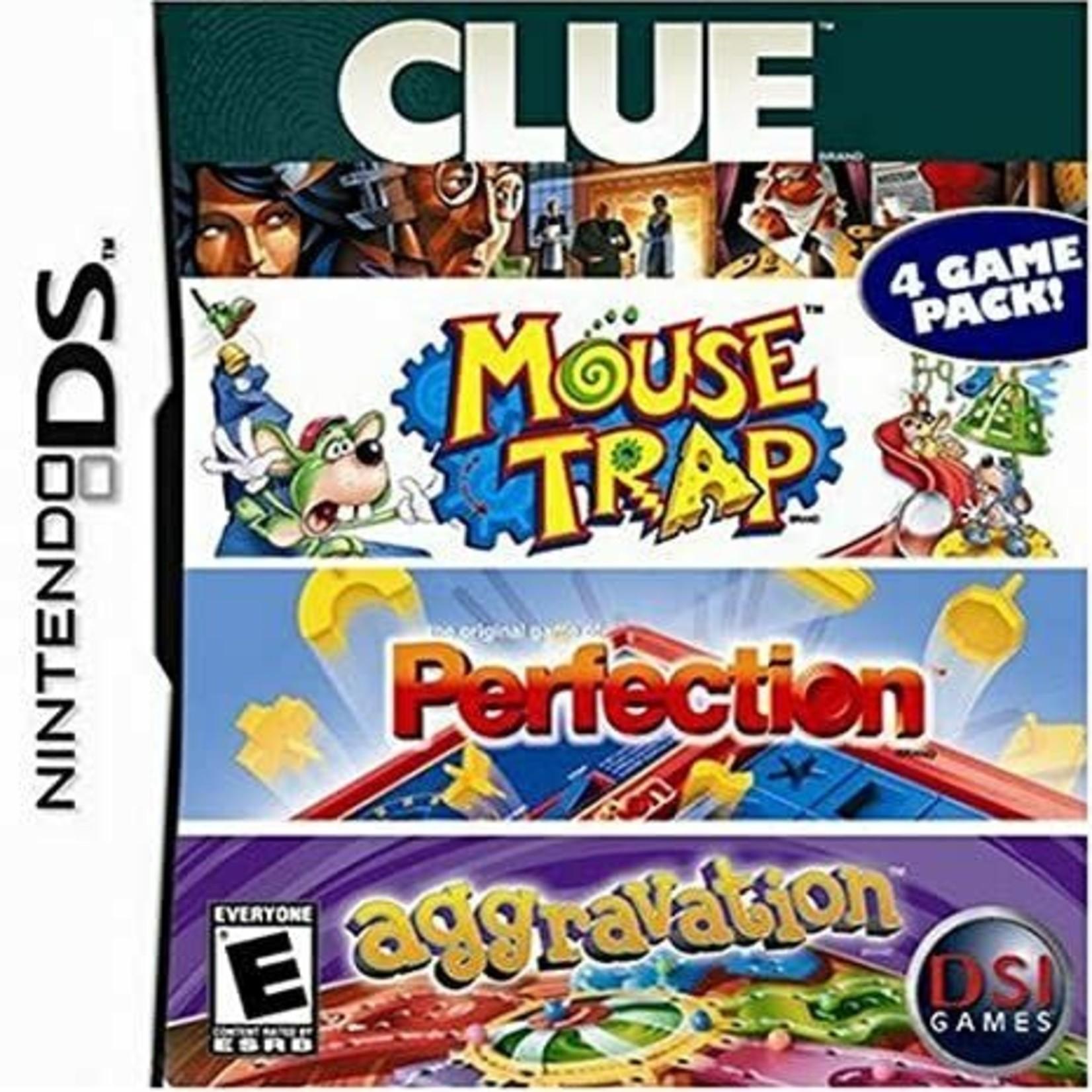 DSU-CLUE/MOUSE TRAP/PERFECTION/AGGRAVATION