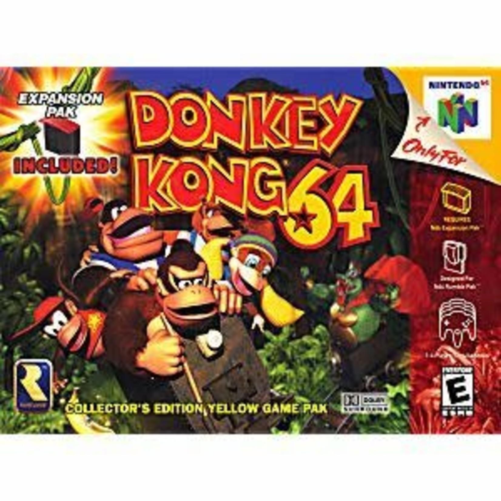 N64U-DONKEY KONG 64 (CARTRIDGE)