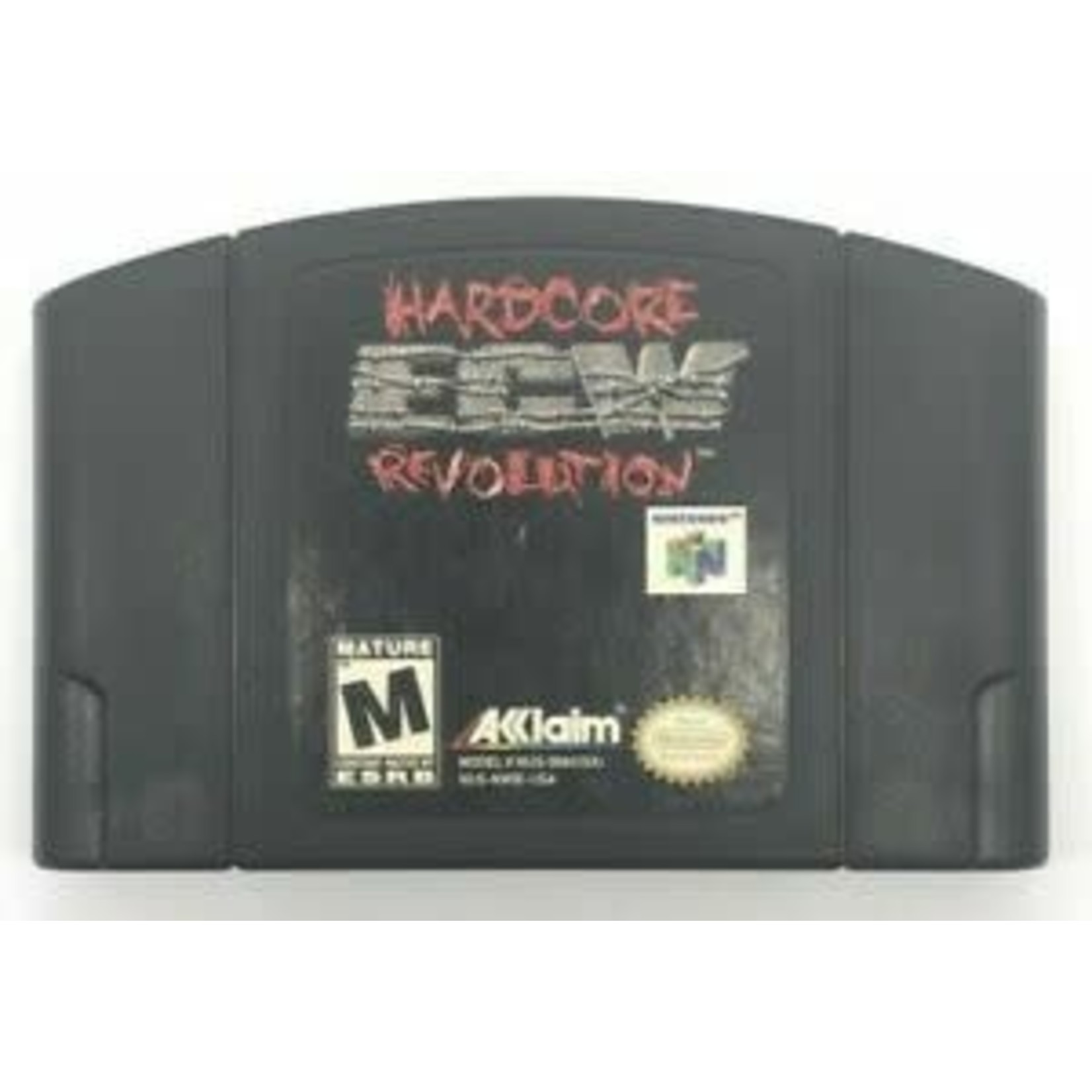 N64U-HARDCORE ECW REVOLUTION (CARTRIDGE)
