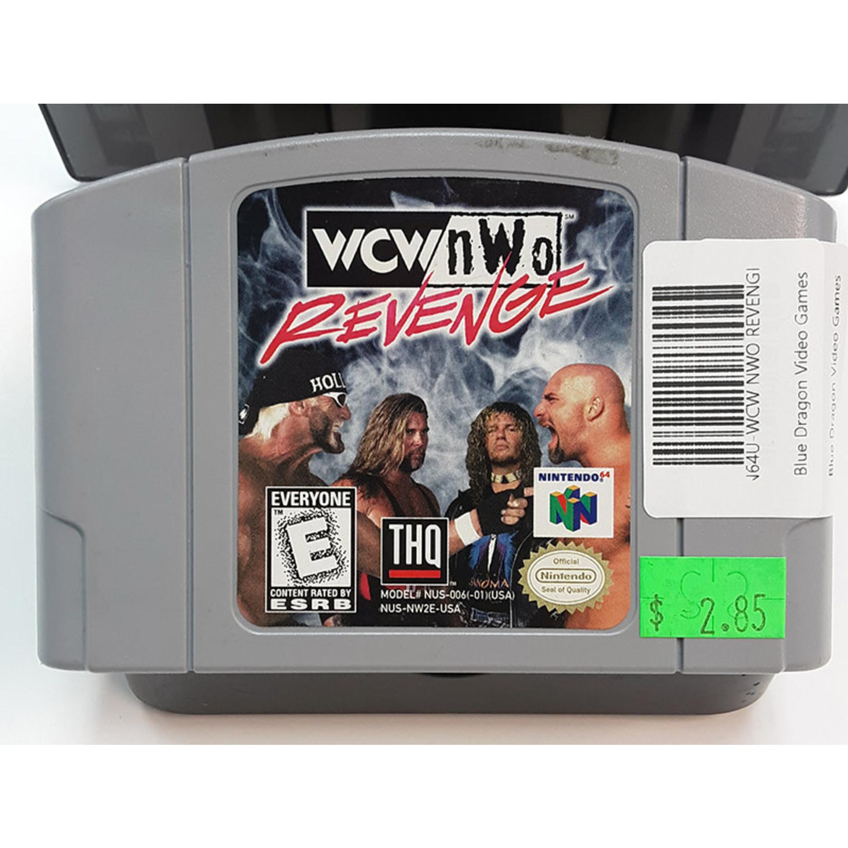 N64U-WCW NWO REVENGE (CARTRIDGE)