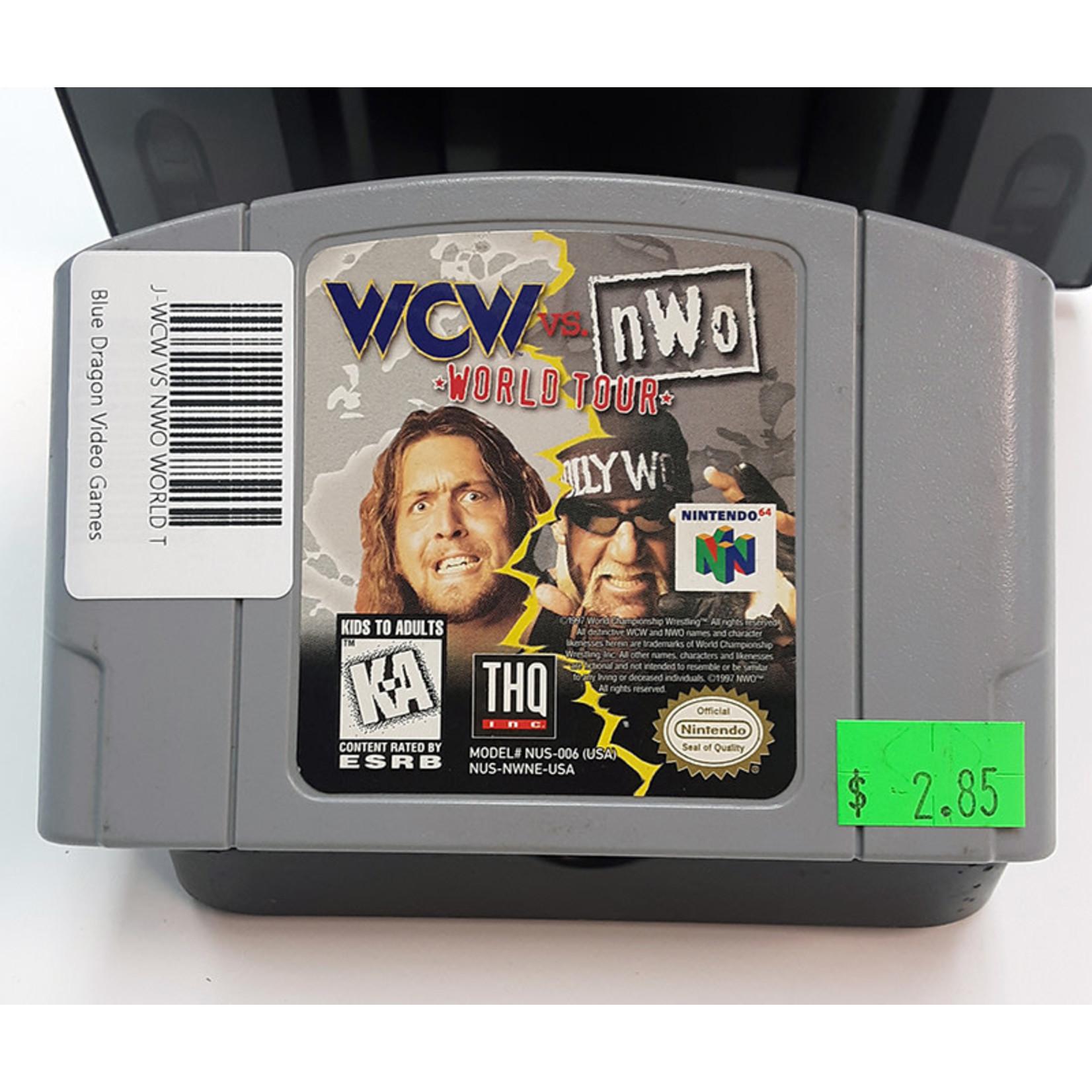 N64U-WCW VS NWO WORLD TOUR (CARTRIDGE)