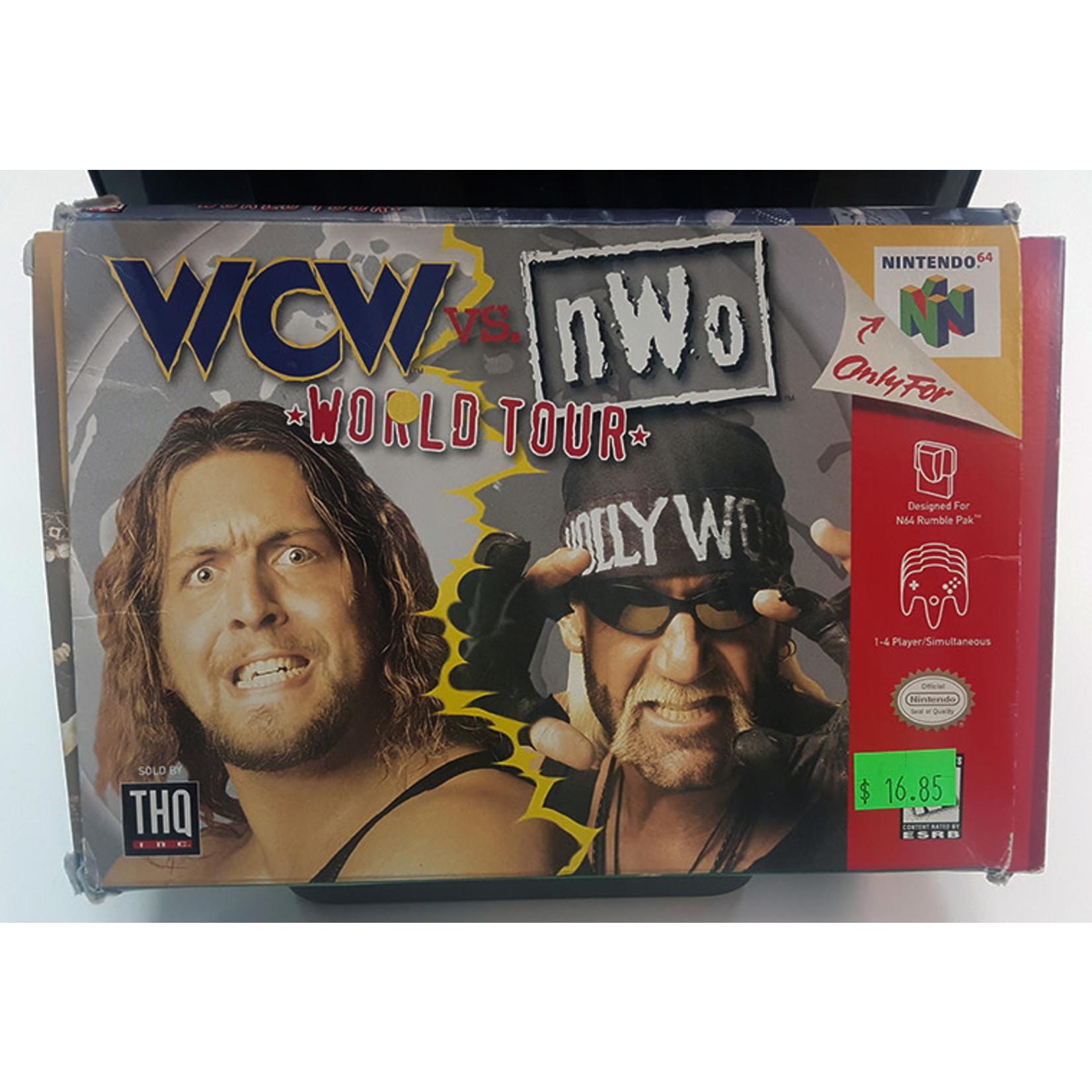 N64U-WCW VS NWO WORLD TOUR (IN BOX)