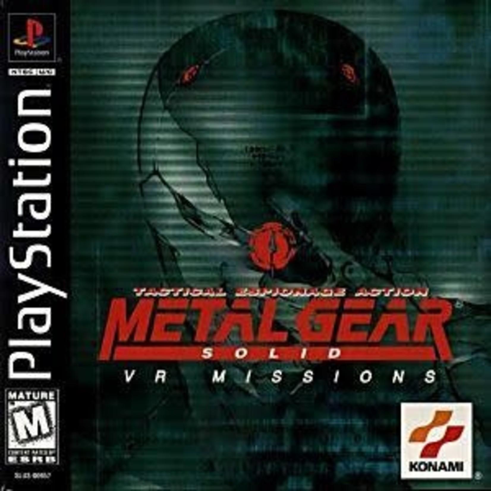 PS1U-METAL GEAR SOLID VR MISSIONS