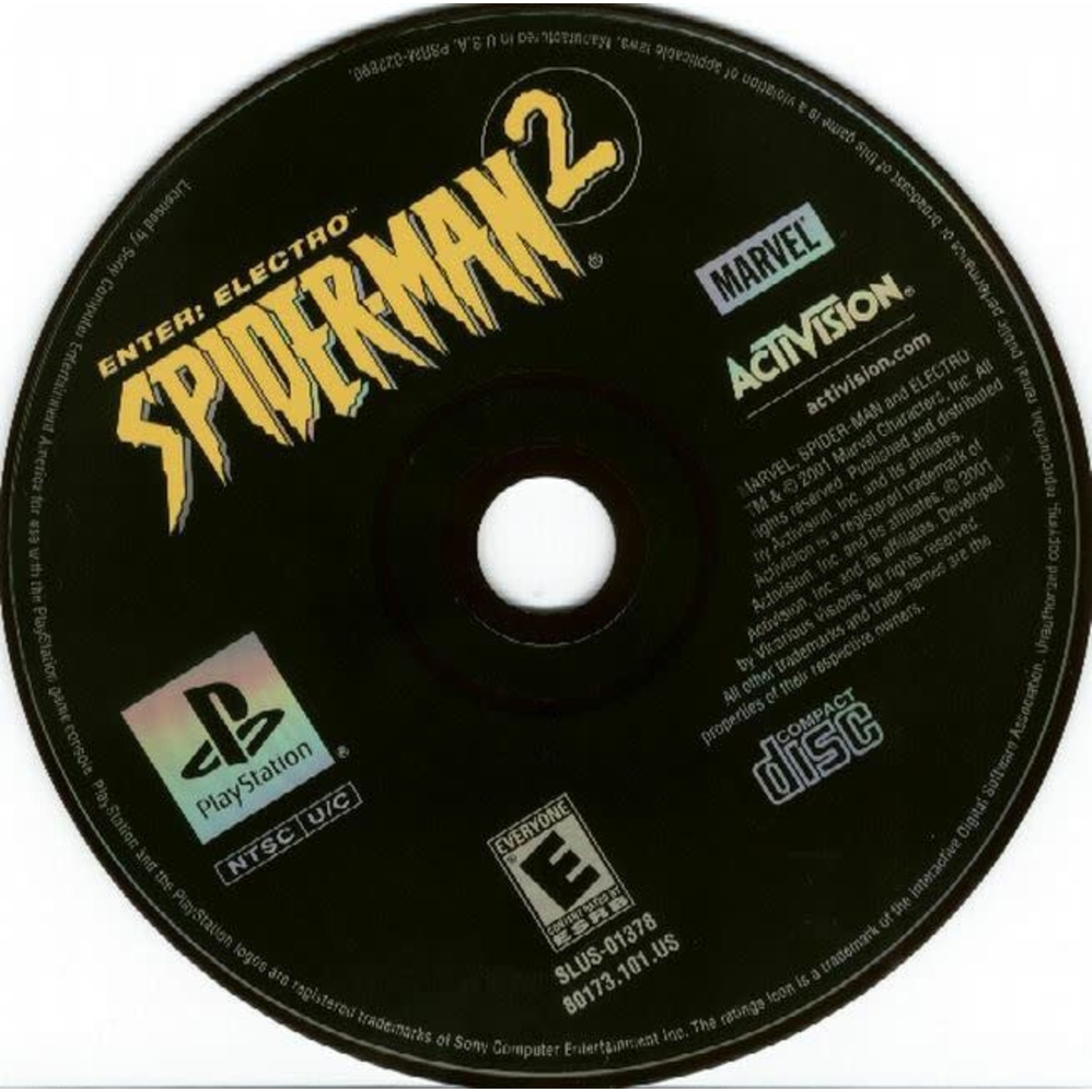 PS1U-SPIDER-MAN 2 ENTER: ELECTRO (DISC ONLY)