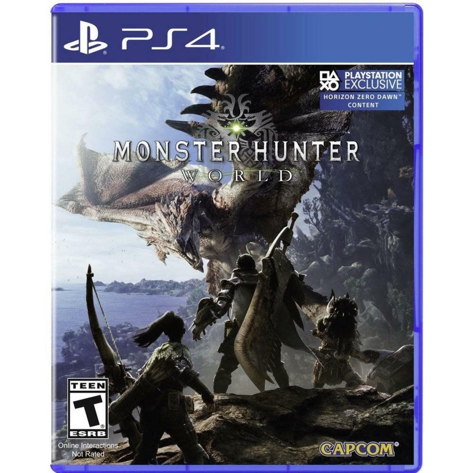 PS4U-MONSTER HUNTER: WORLD
