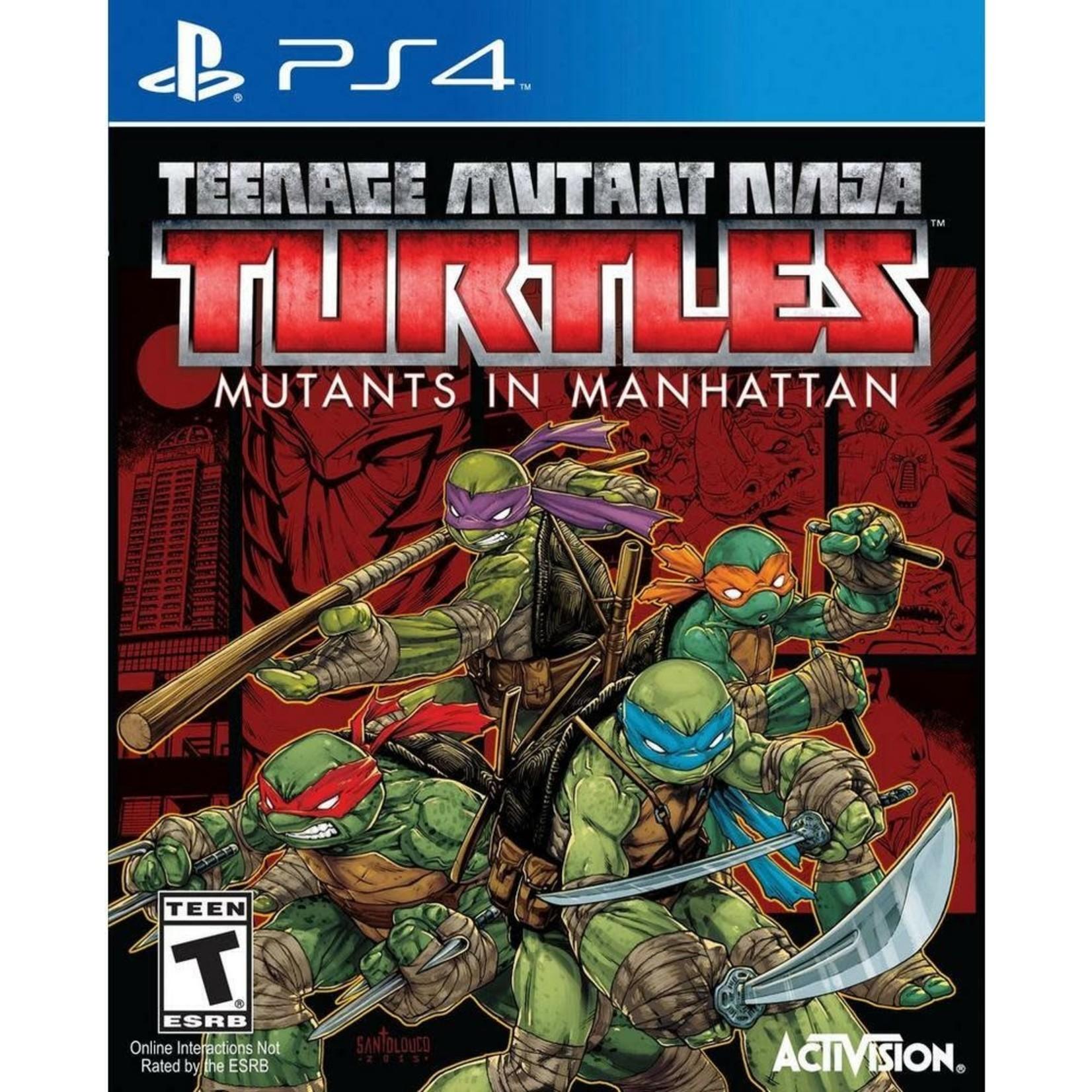 PS4U-TEENAGE MUTANT NINJA TURTLES: MUTANTS IN MANHATTAN