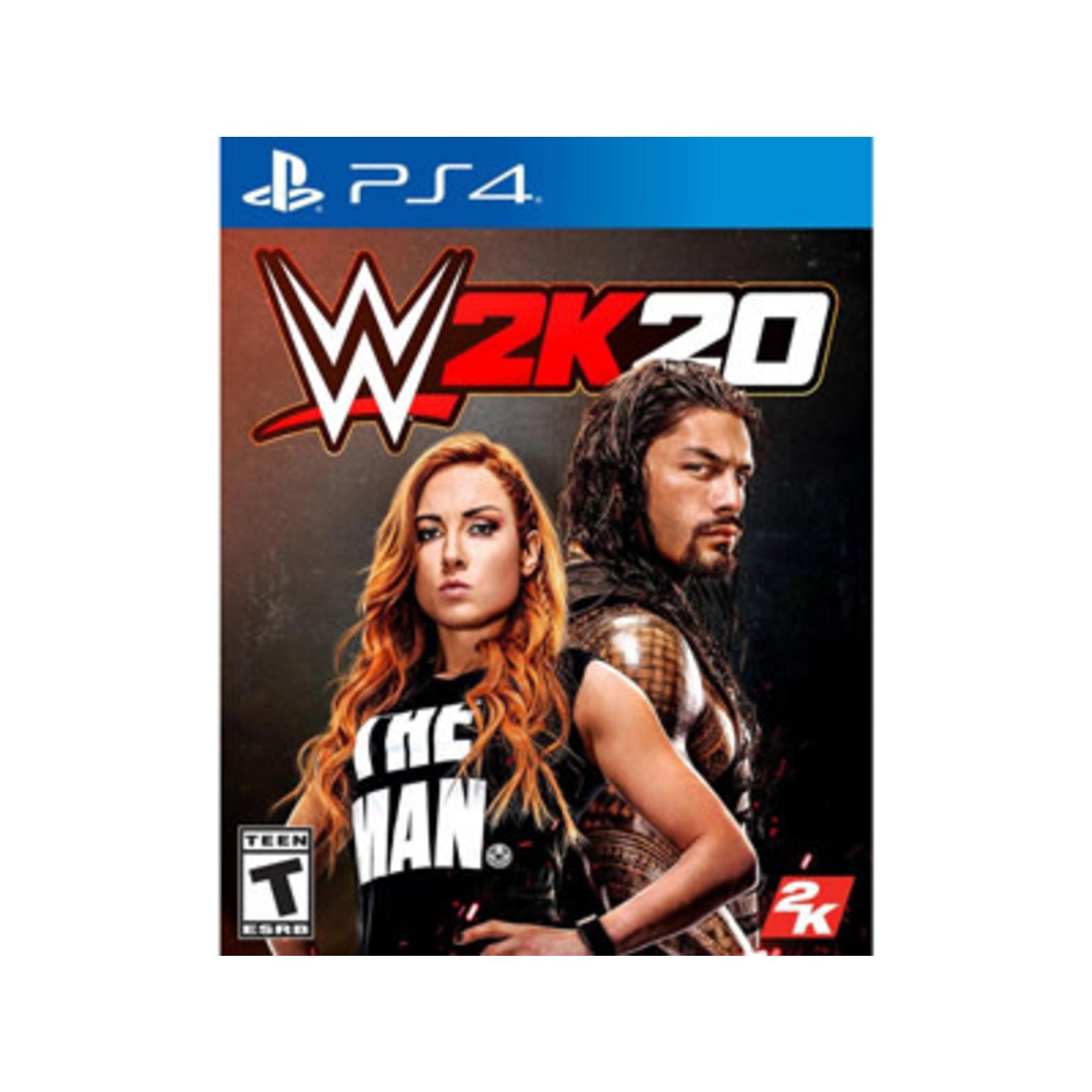 PS4U-WWE 2K20
