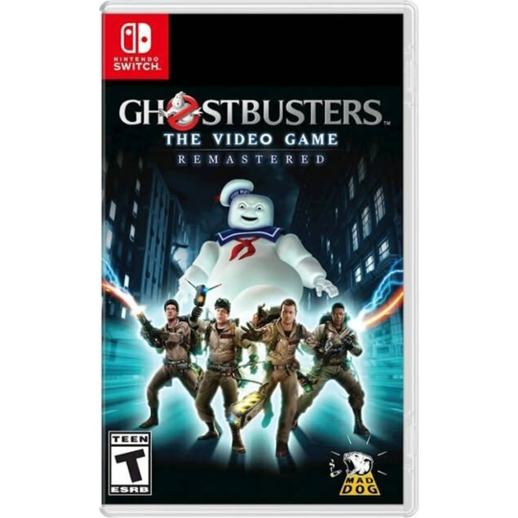 SWITCHU-GHOSTBUSTERS: THE VIDEO GAME REMASTERED