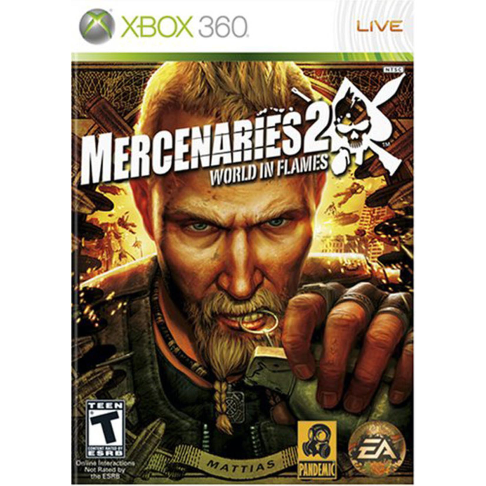 X3U-MERCENARIES 2: WORLD IN FLAMES