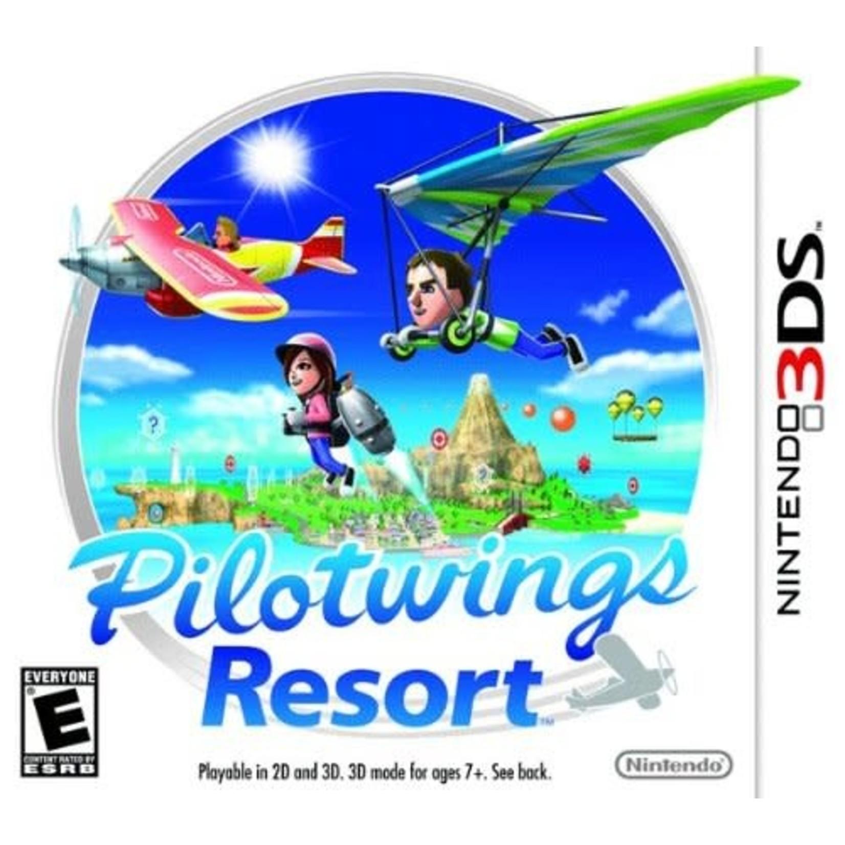 3DSU-PILOTWINGS RESORT - 3DS