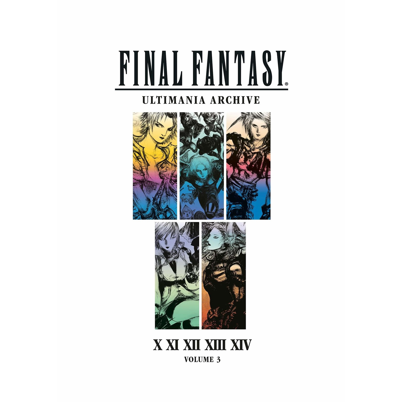 Final Fantasy Ultimania Archive : X, XI, XII, XIII, XIV, Hardcover by Square