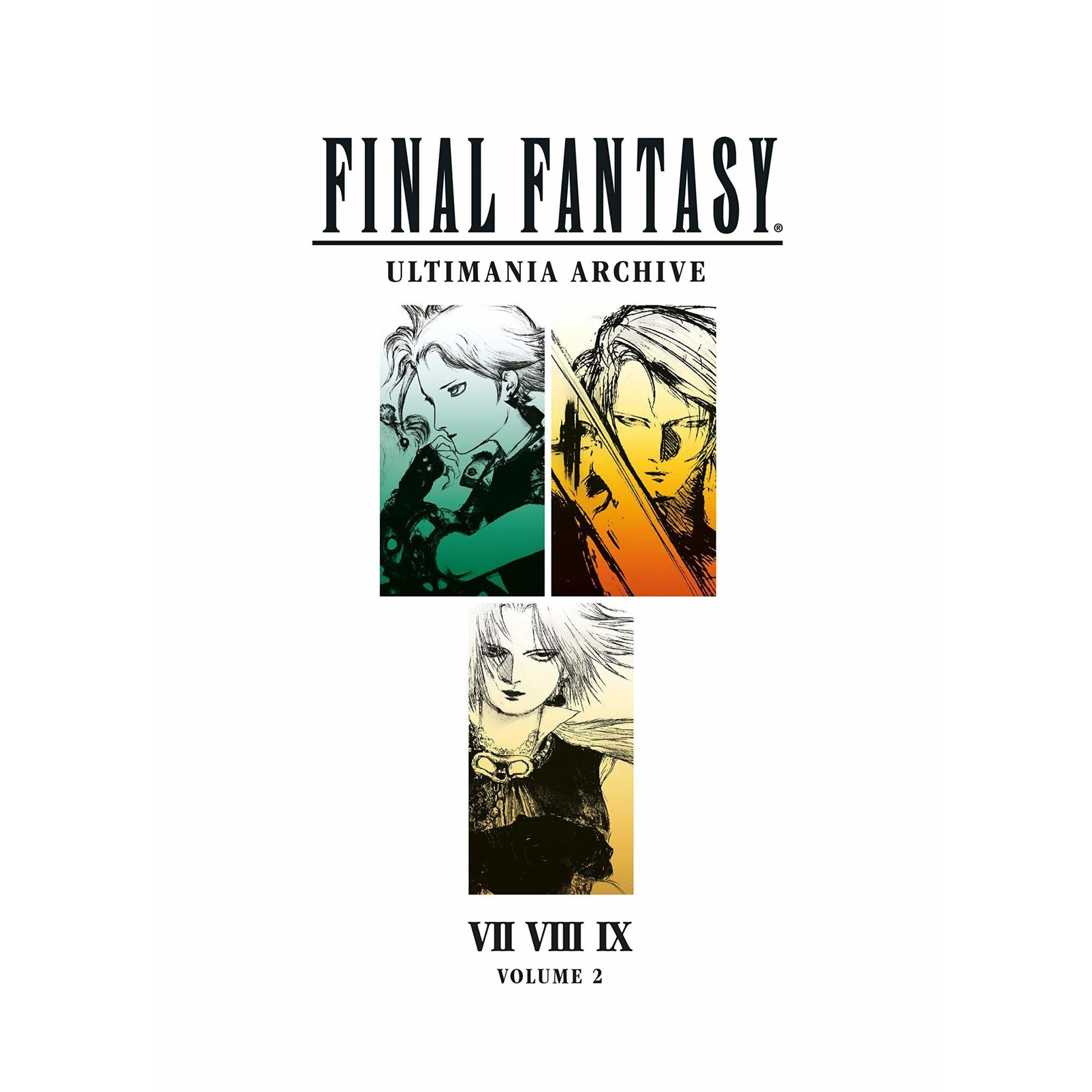 Final Fantasy Ultimania Archive :VII VIII IX, Hardcover by Square
