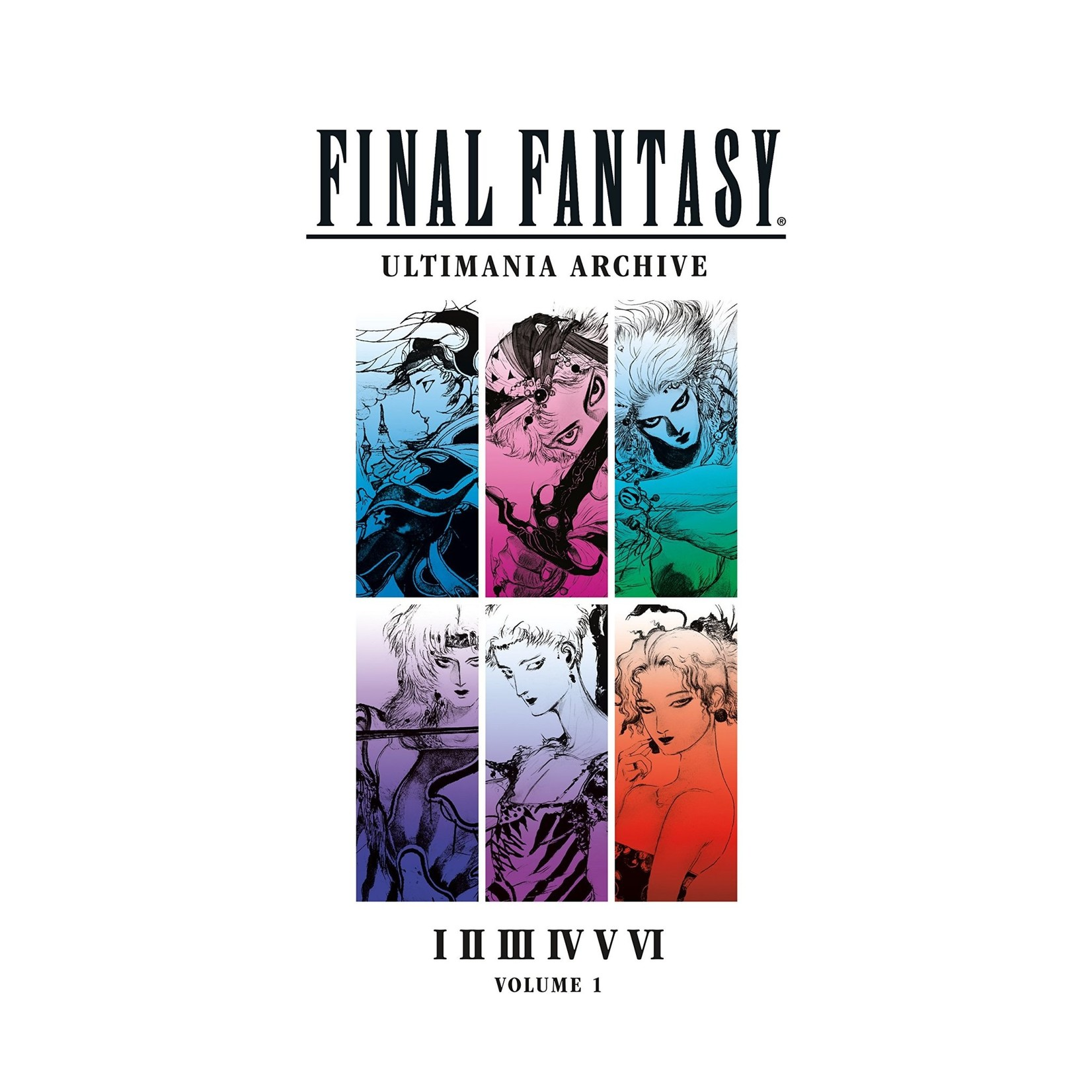 Final Fantasy Ultimania Archive : I II III IV VI Hardcover by Square