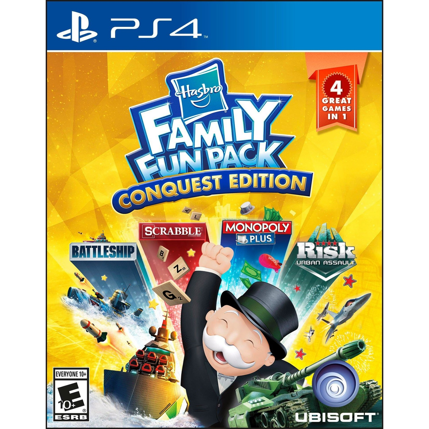 PS4U-HASBRO FAMILY FUN PACK CONQUEST