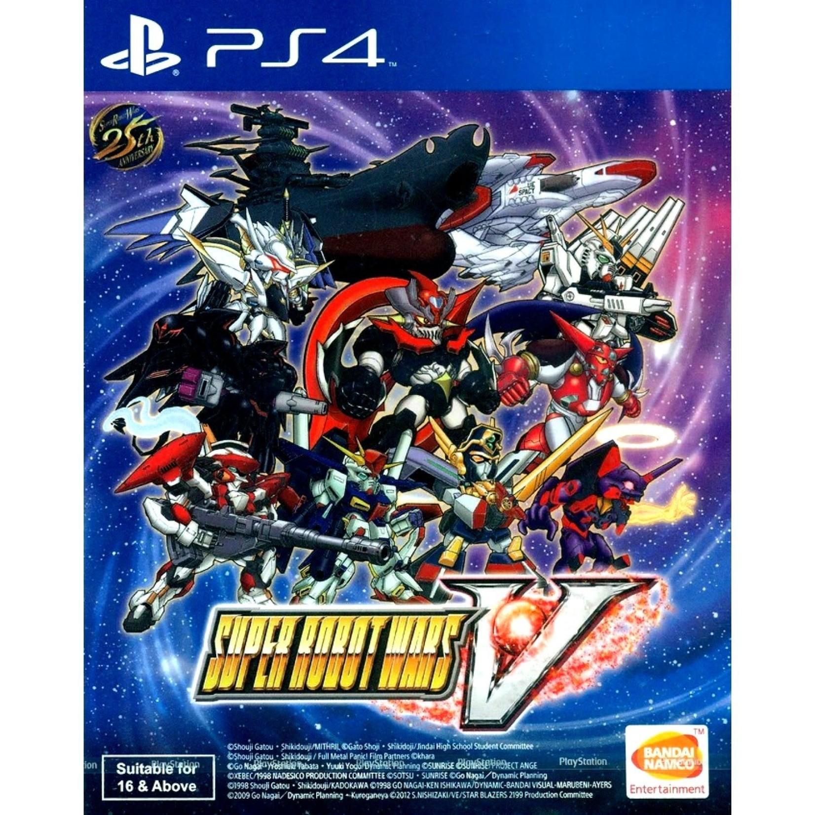 PS4-Super Robot Wars V