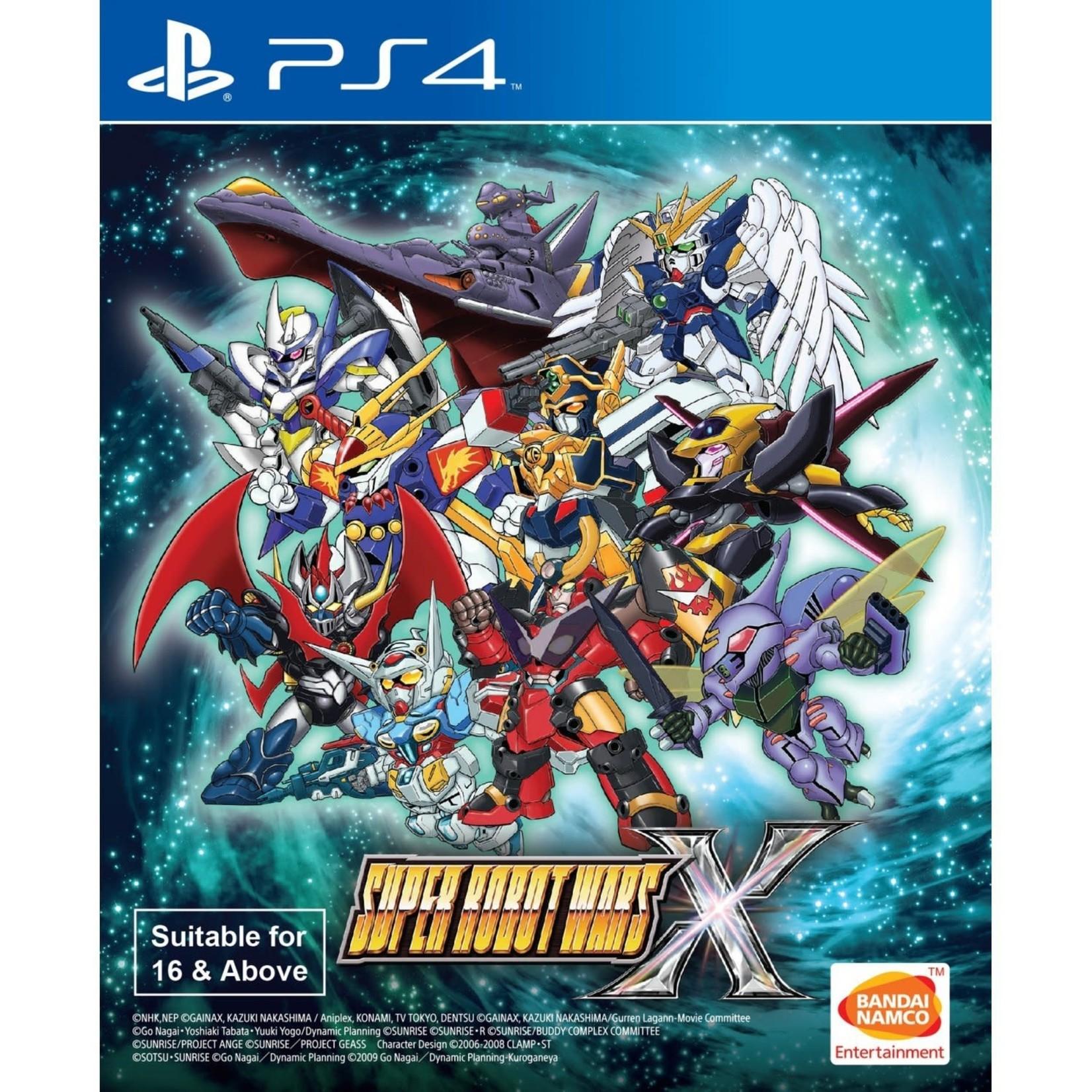 PS4-Super Robot Wars X