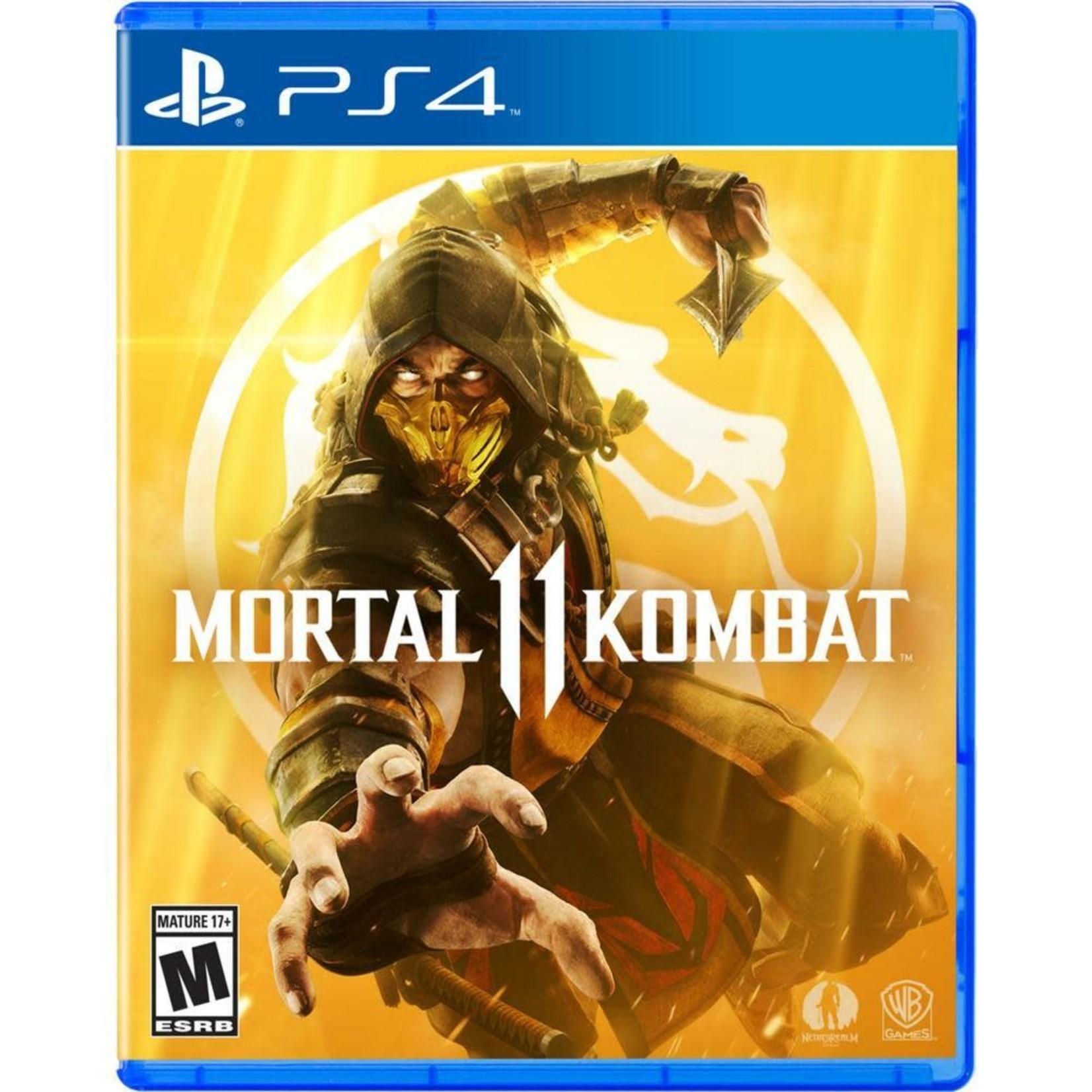 PS4-MORTAL KOMBAT 11
