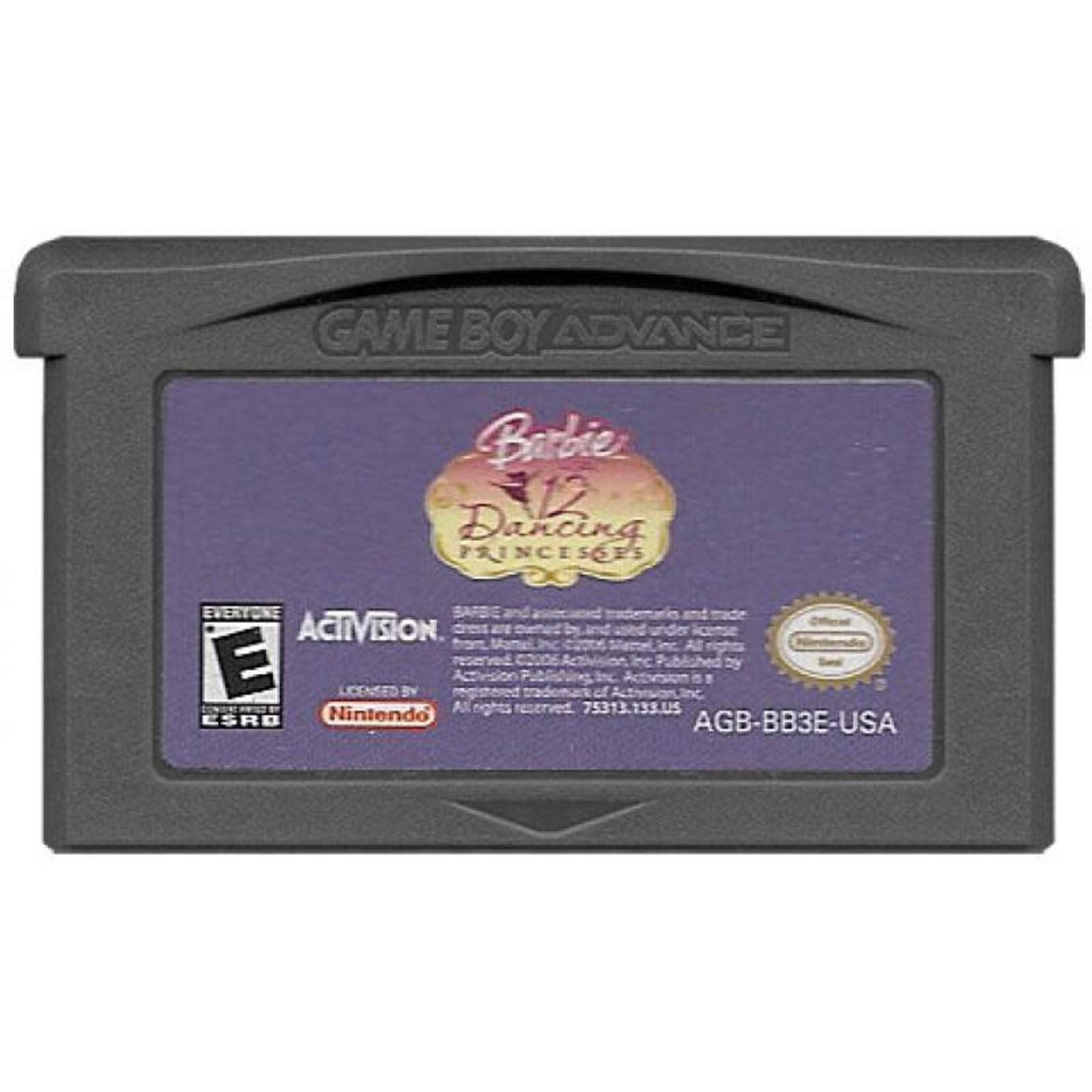 gbau-Barbie 12 dancing Princesses (cartridge)