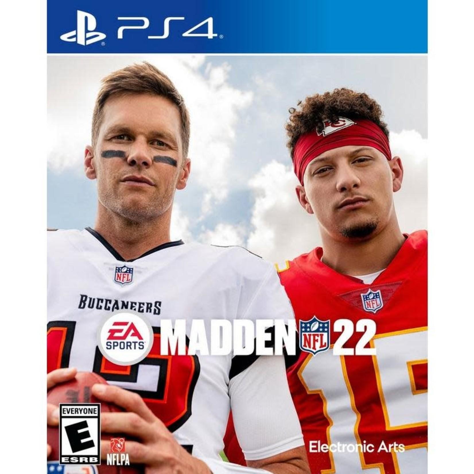 PS4-Madden NFL 22