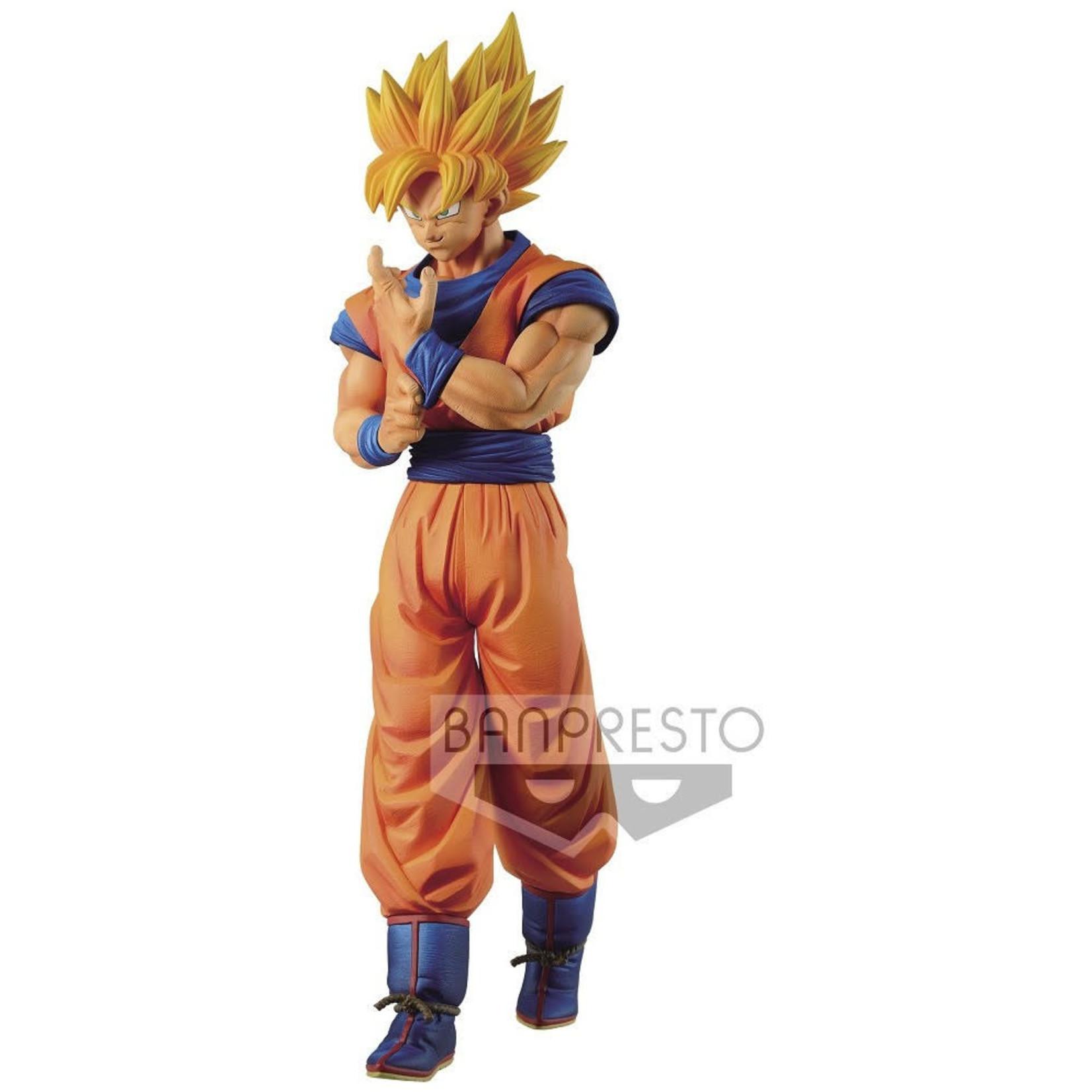 FIGURE-Dragon Ball Z Solid Edge Works  Super Saiyan Son Goku
