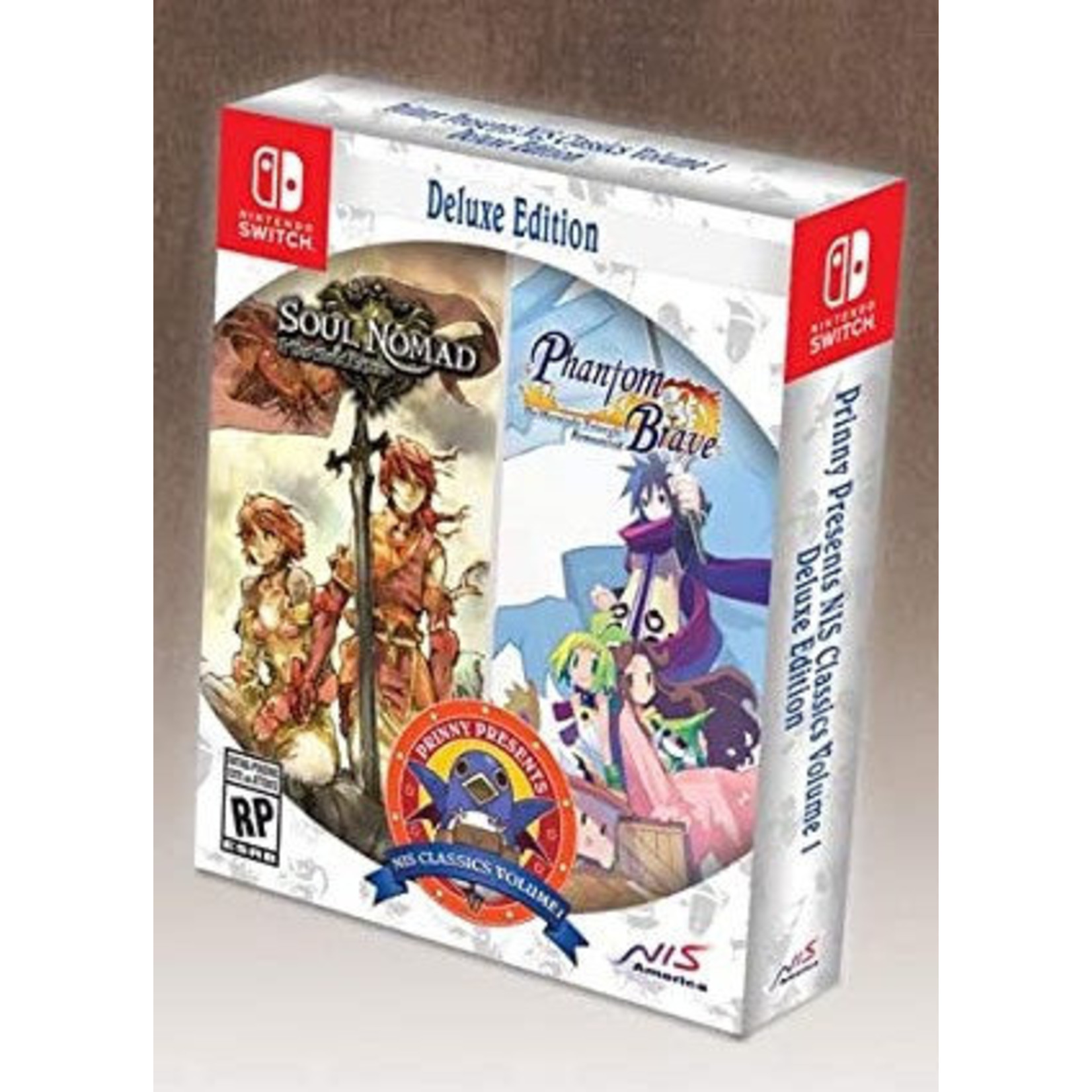 Switch-Prinny NIS Classic Volume 1 Deluxe Edition