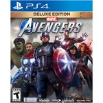 PS4-MARVEL'S AVENGERS DELUXE EDITION