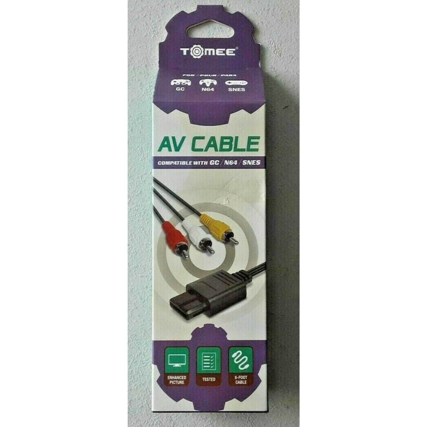 GAMECUBE/ N64/ SNES AV CABLE - TOMEE