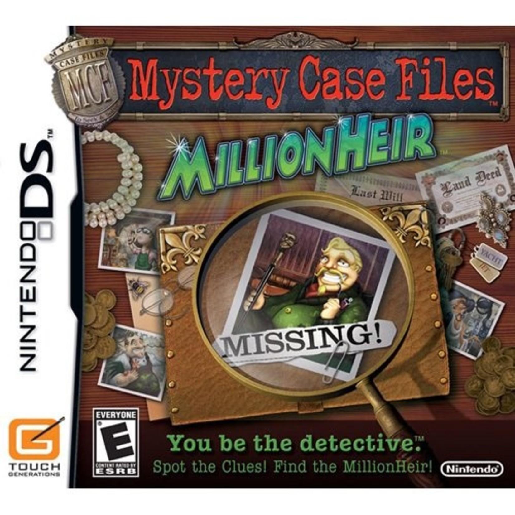DSU-MYSTERY CASE FILES MILLIONHEIR