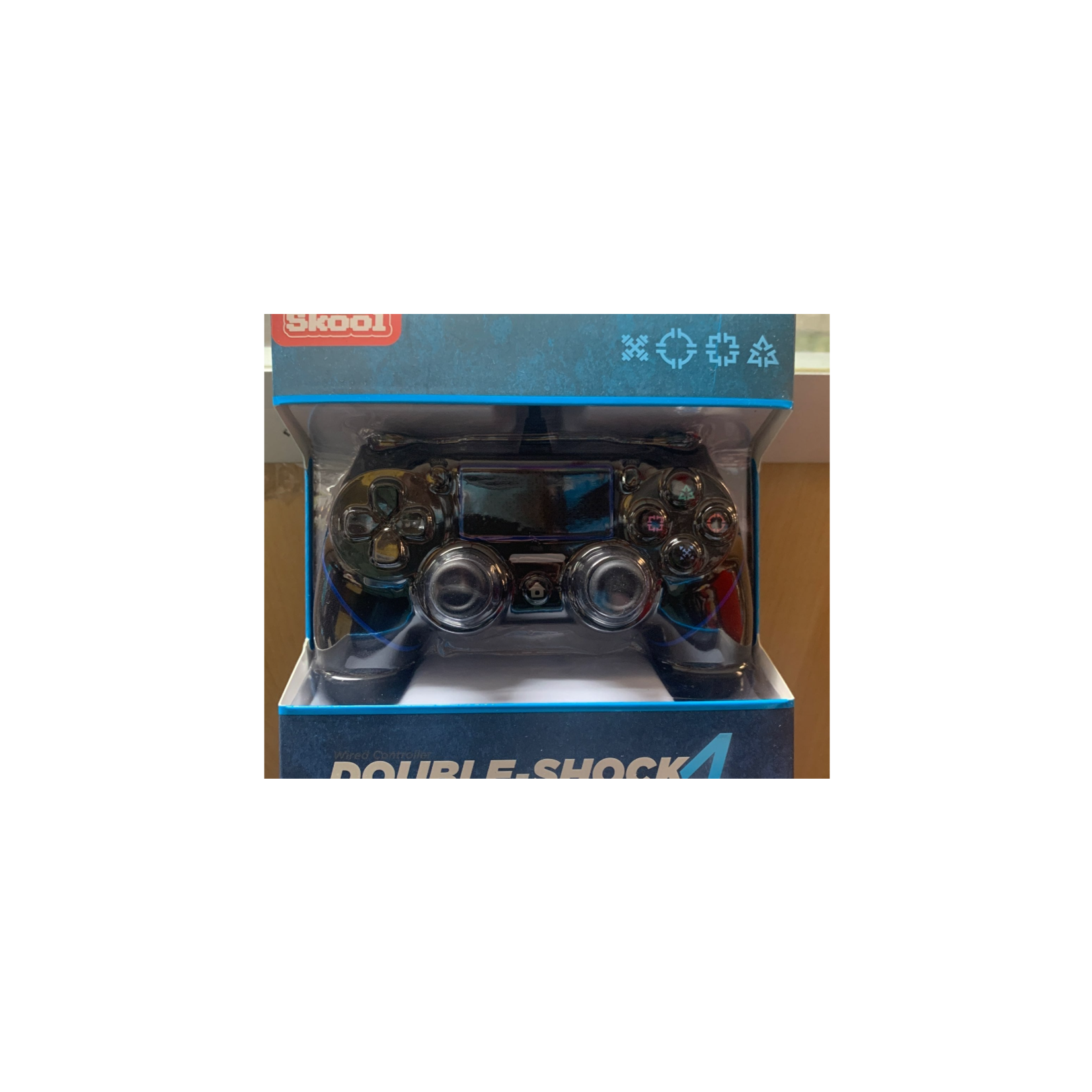 DOUBLE-SHOCK 4 WIRED CONTROLLER FOR PS4