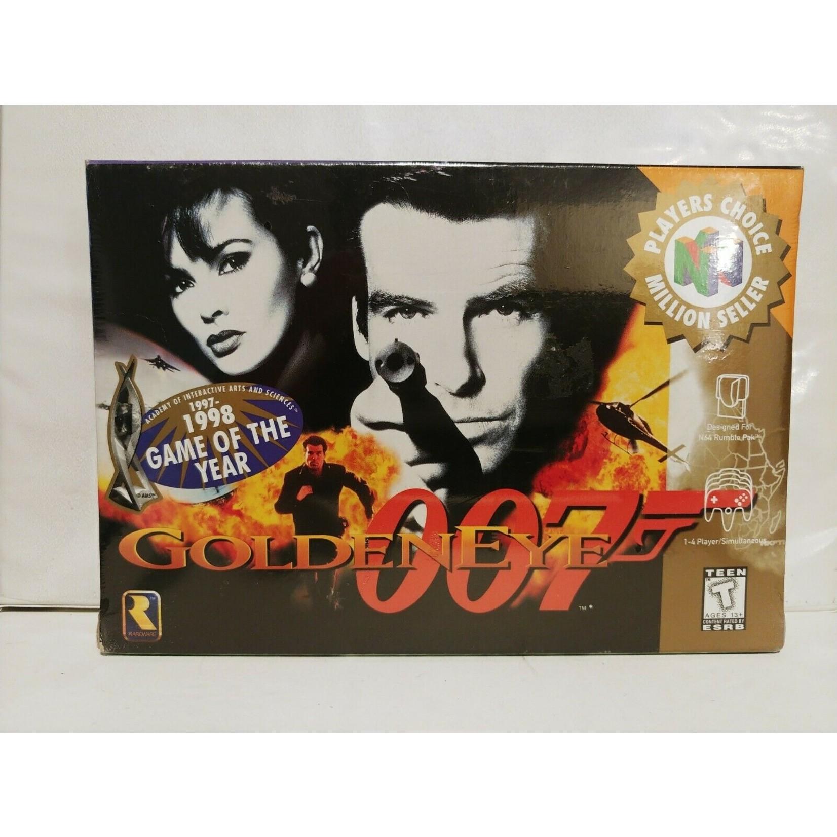 N64U-007 GOLDENEYE BOXED