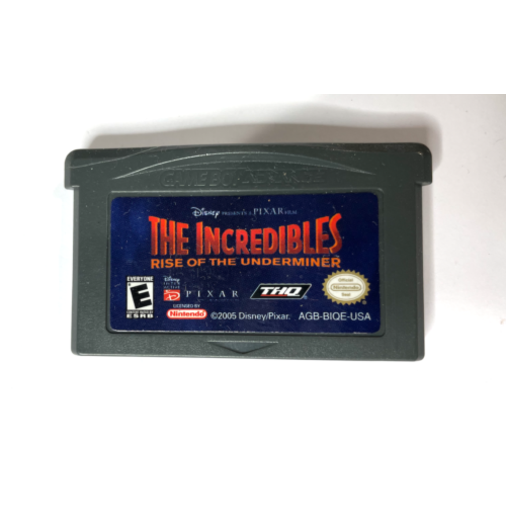 GBAU-THE INCREDIBLES RISE OF THE UNDERMINER (CARTRIDGE)