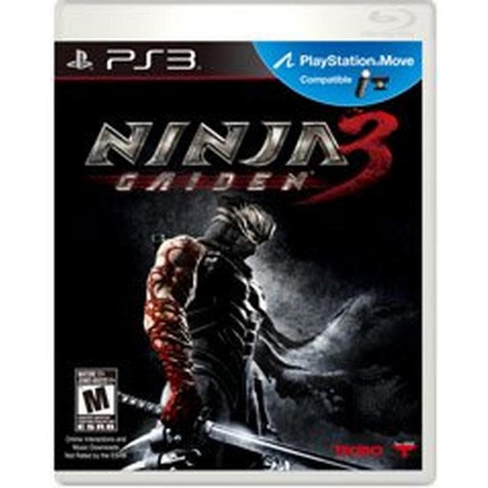 PS3-Ninja Gaiden 3