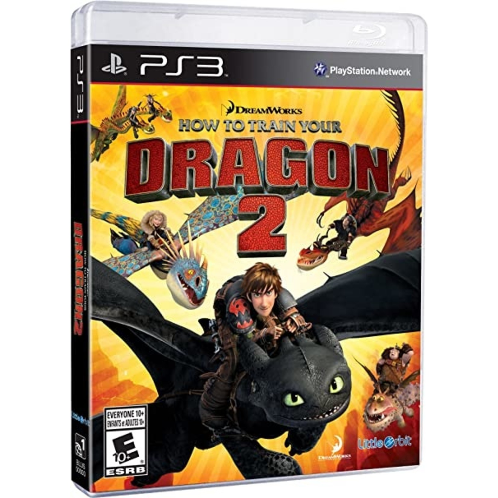 PS3U-HOW TO TRAIN YOUR DRAGON 2