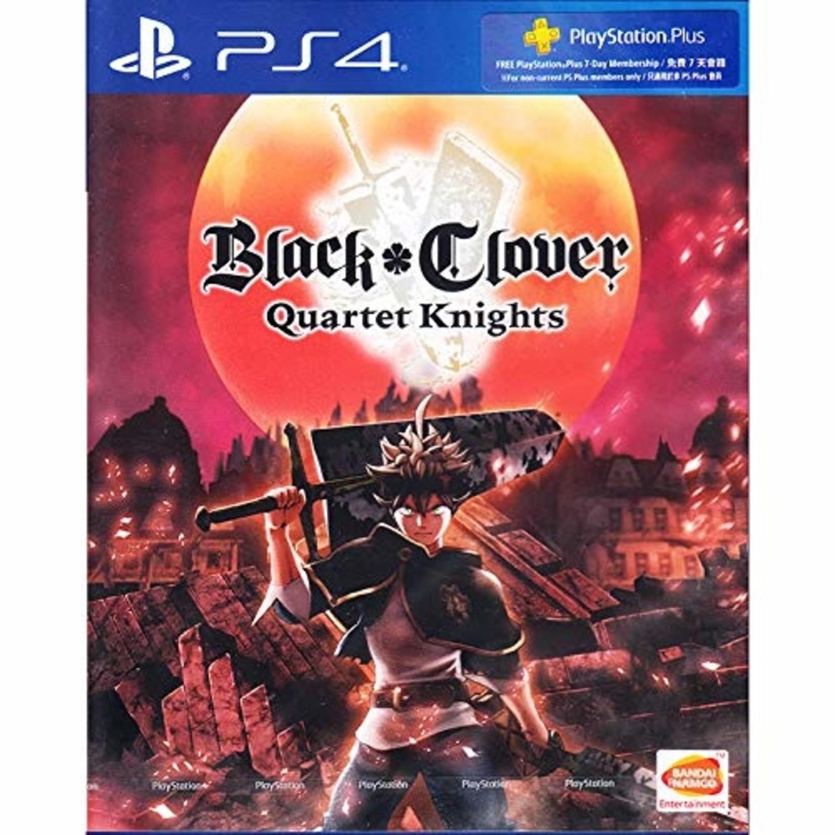 PS4:Black Clover: Quartet Knights
