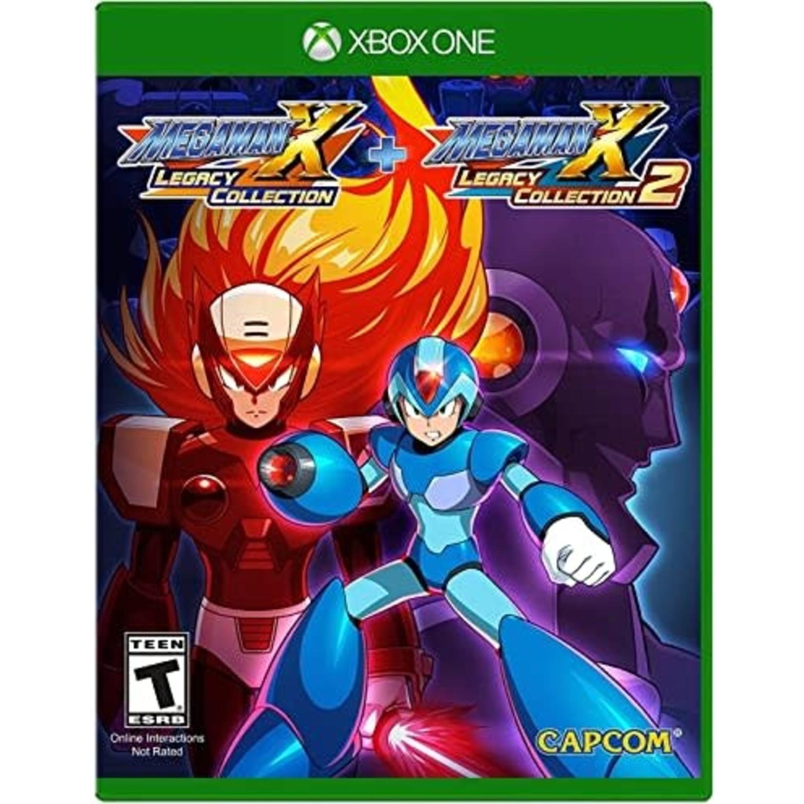 XB1-Megaman X Legacy Collection
