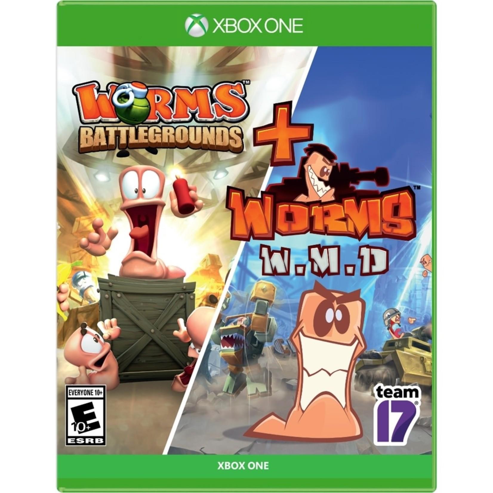 XB1-Worms Battleground + Worms W.M.D