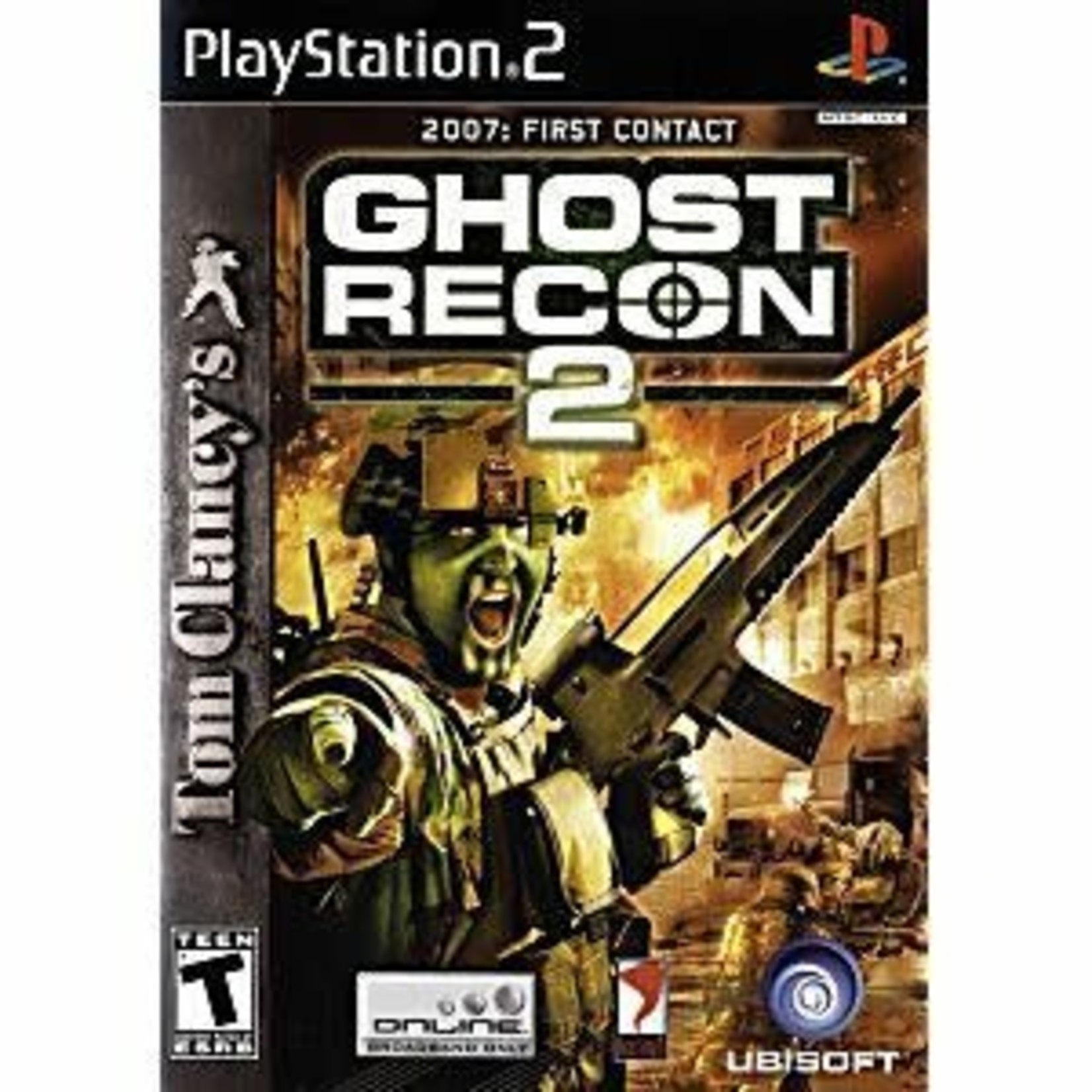 PS2U-GHOST RECON 2
