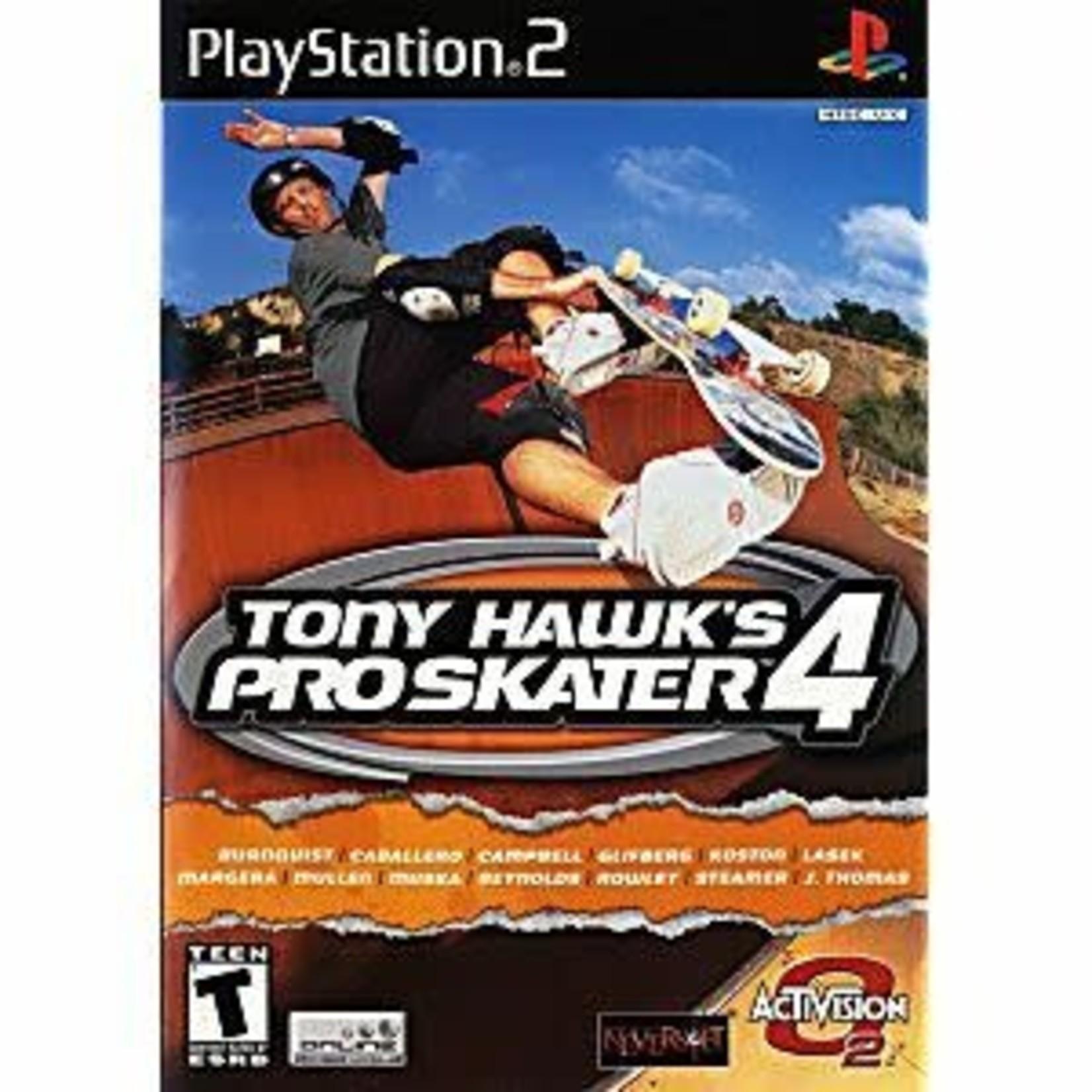 PS2U-TONY HAWK PRO SKATER 4