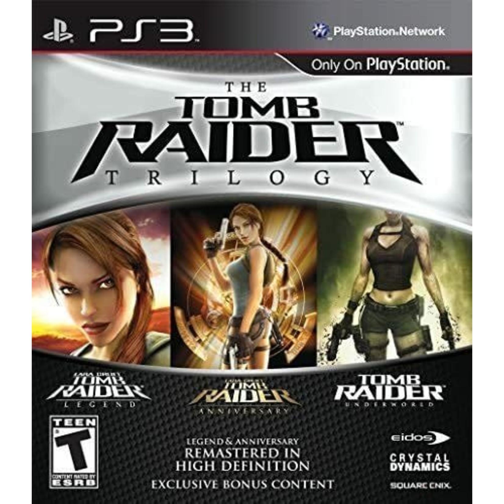 PS3-TOMB RAIDER TRILOGY