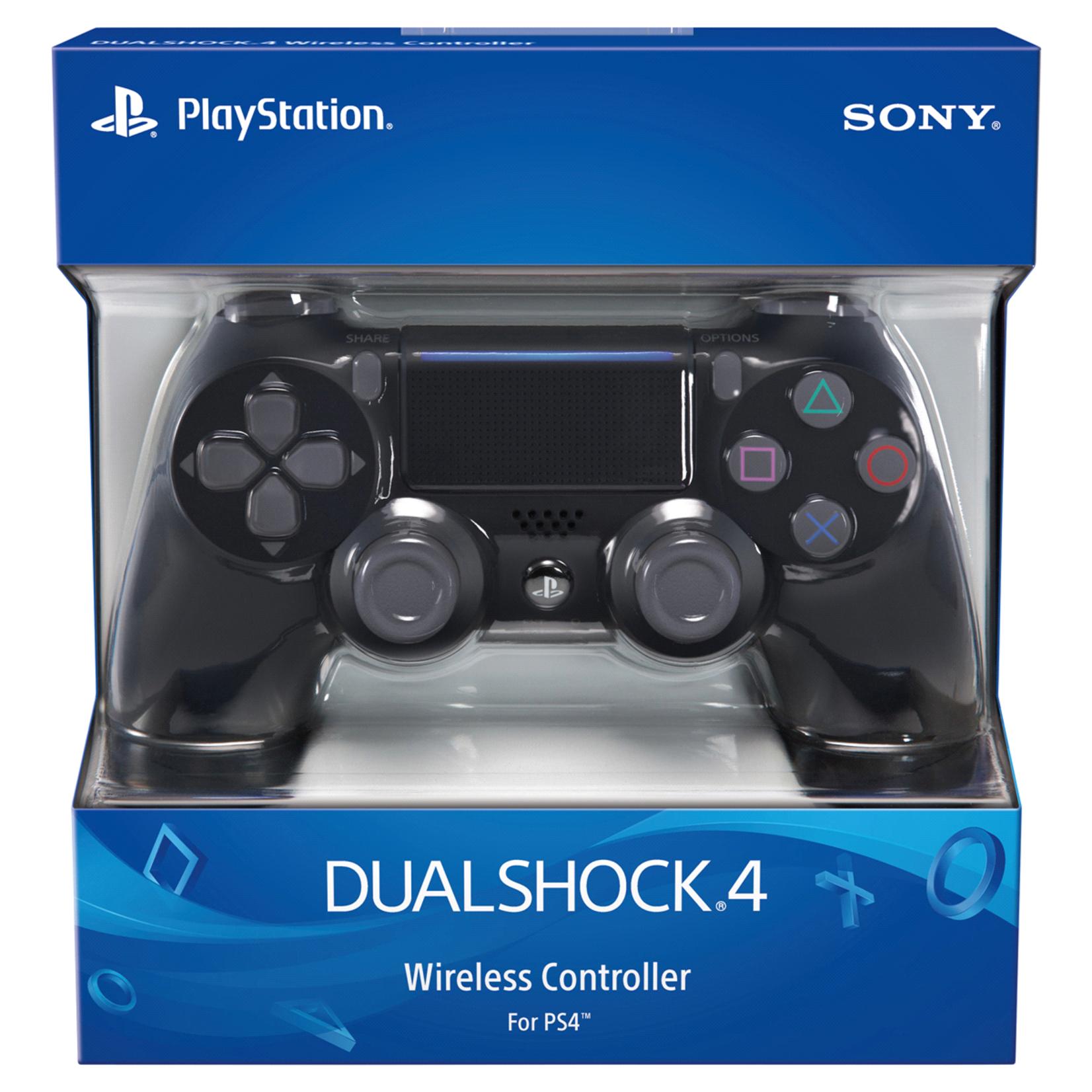 PS4-DUALSHOCK 4 WIRELESS CONTROLLER - BLACK