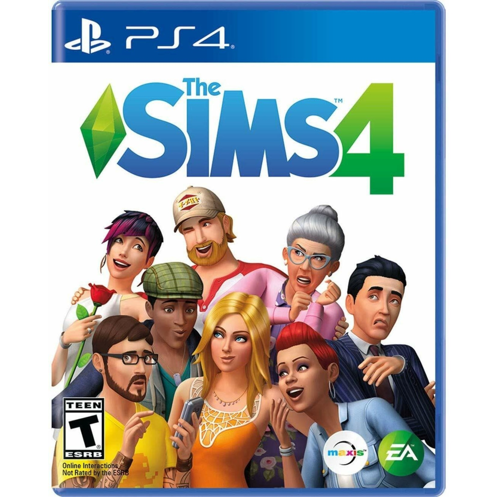 PS4U-THE SIMS 4